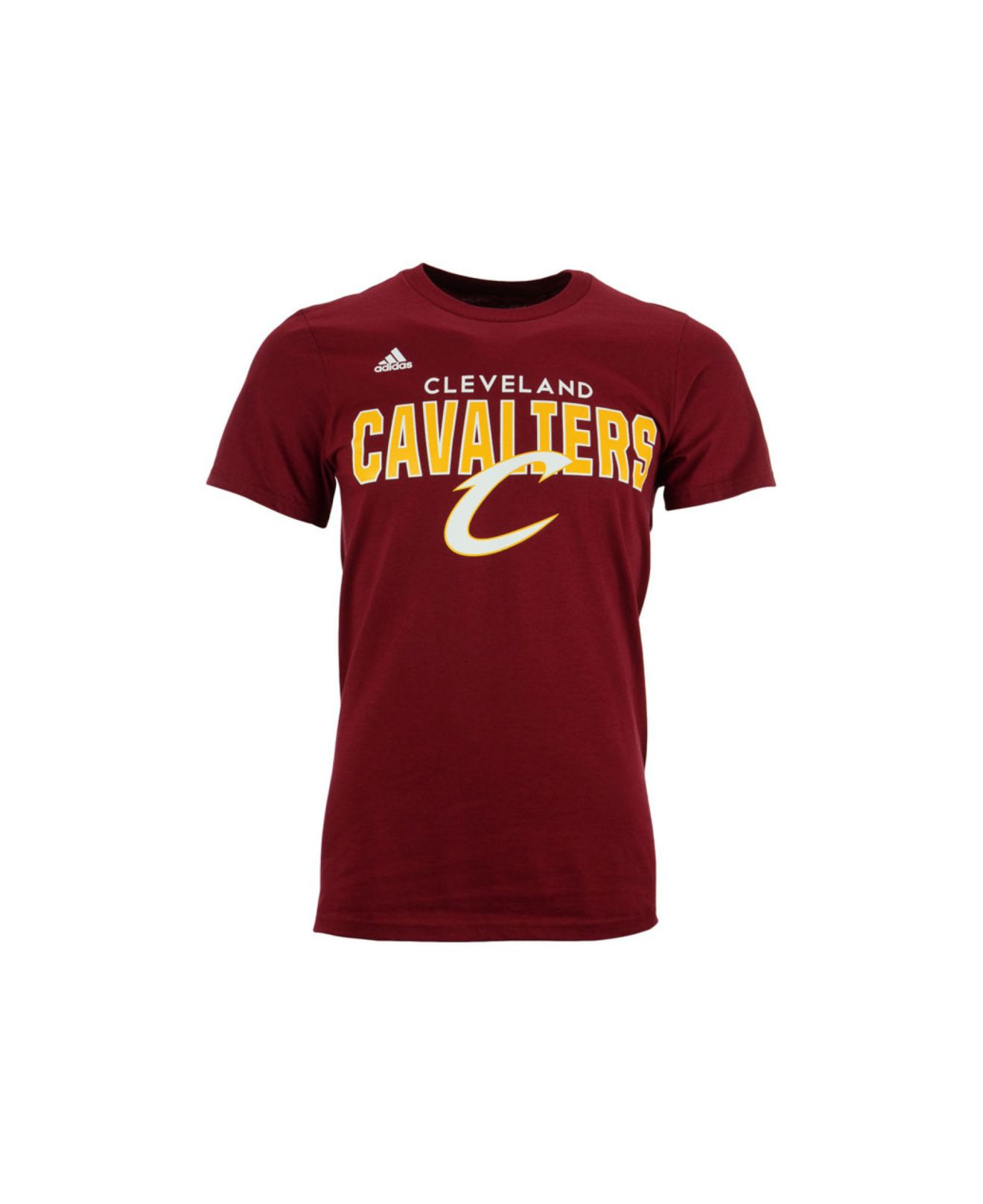 Adidas originals men 39 s short sleeve cleveland cavaliers for Cleveland t shirt printing