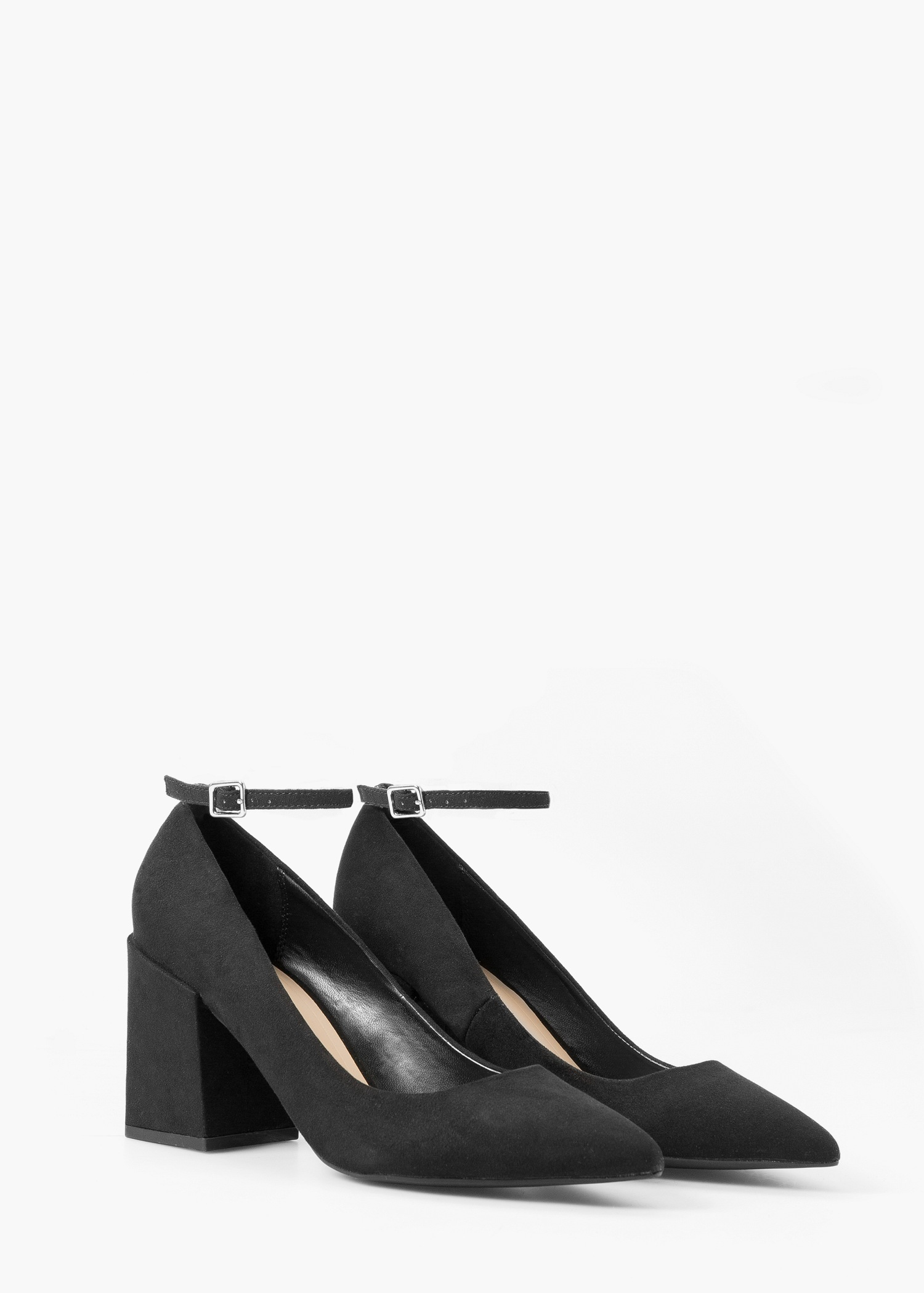 MANGO Ankle-cuff pointed toe shoes vR7NH0aH