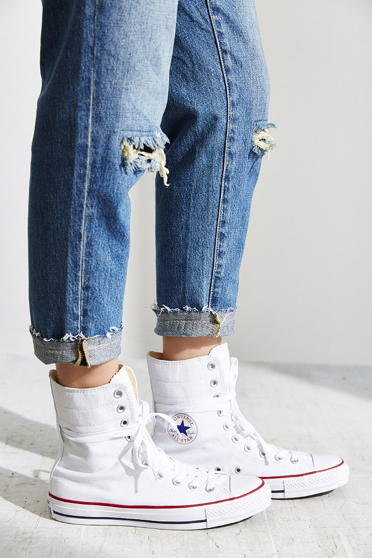Lyst Converse Chuck Taylor All Star High Rise Sneaker In