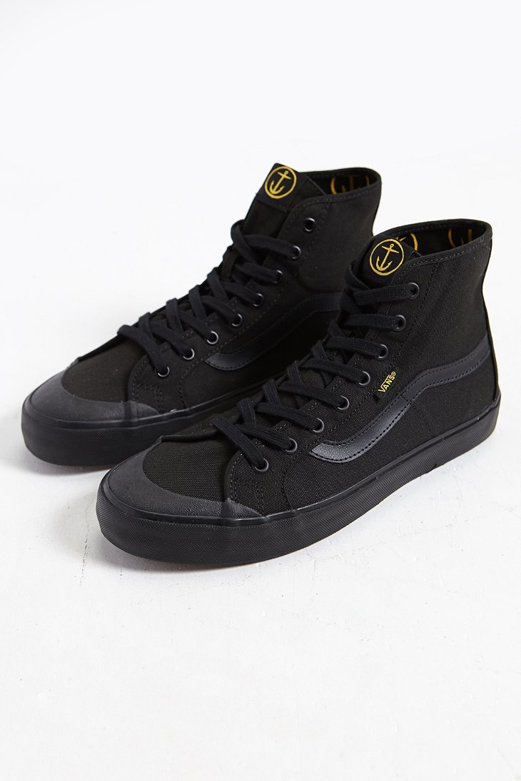 b3b5666545bbd8 Lyst - Vans Black Ball Hi Sf Sneaker in Black for Men