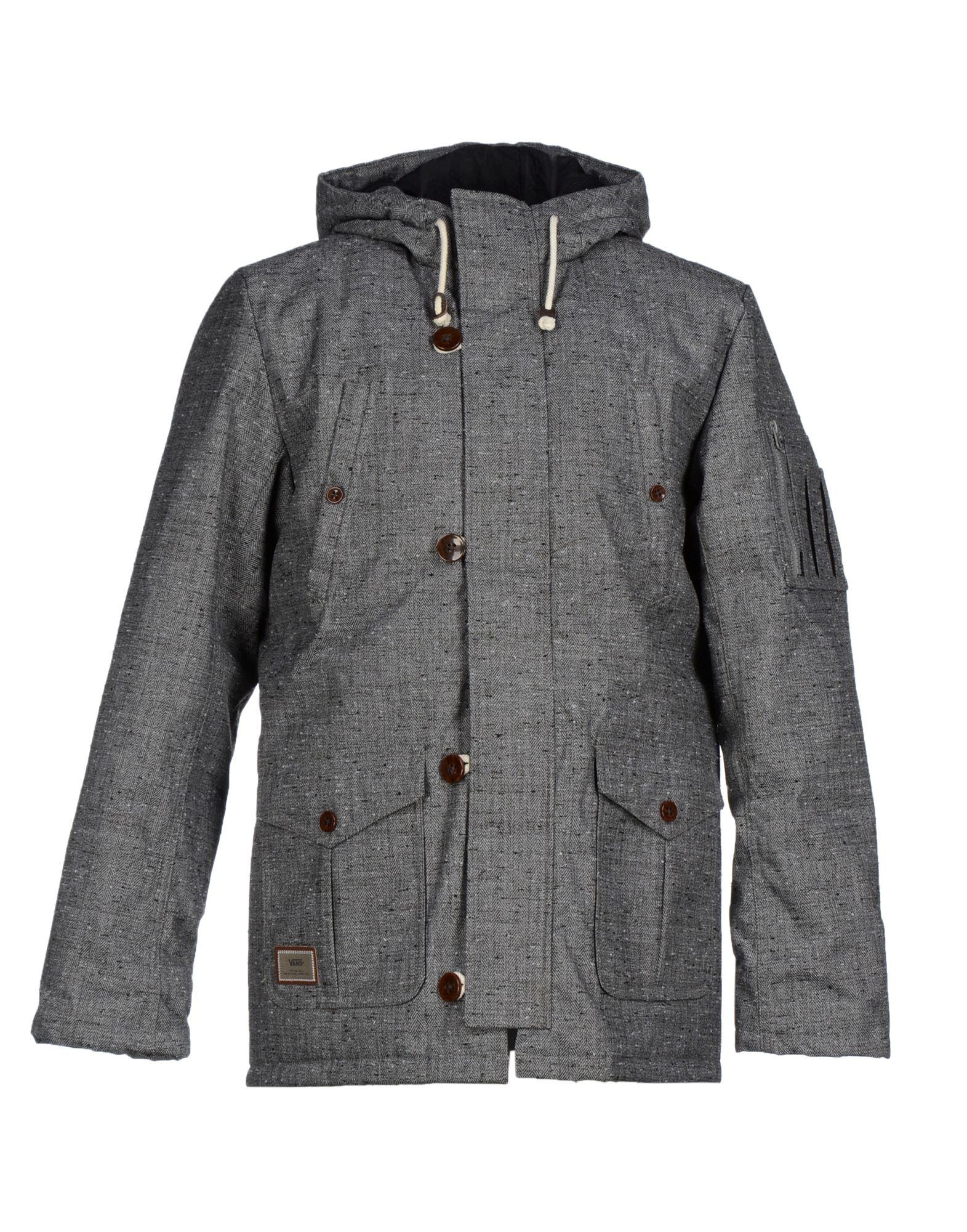 Vans Jacket In Gray For Men | Lyst