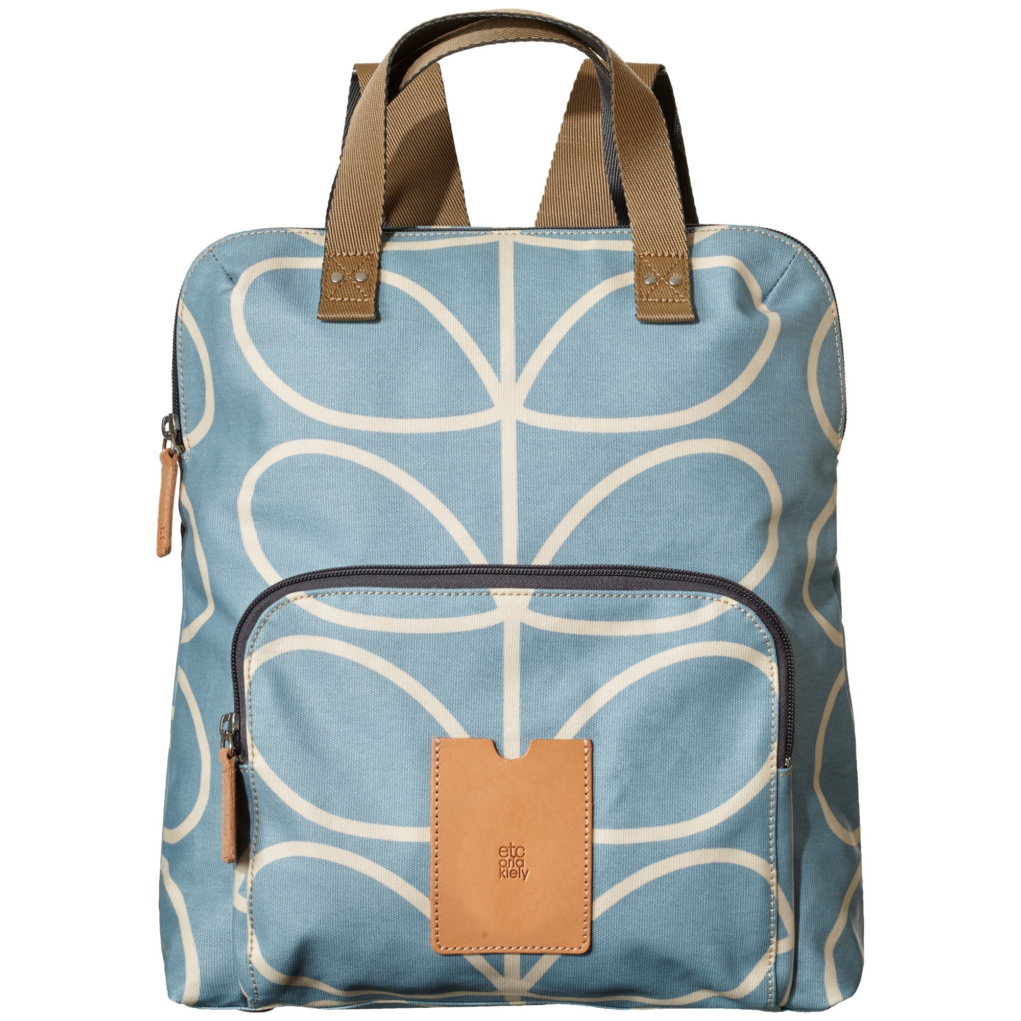 5fb3a0c21c16 Orla Kiely Giant Linear Stem Print Backpack Tote in Blue - Lyst