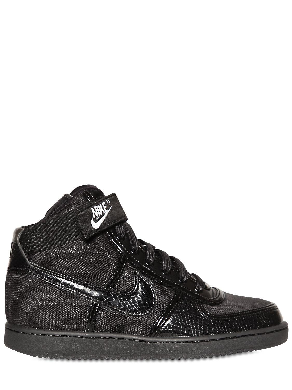 hot sale online c9053 29fbe Lyst - Nike Vandal High Top Sneakers in Black for Men