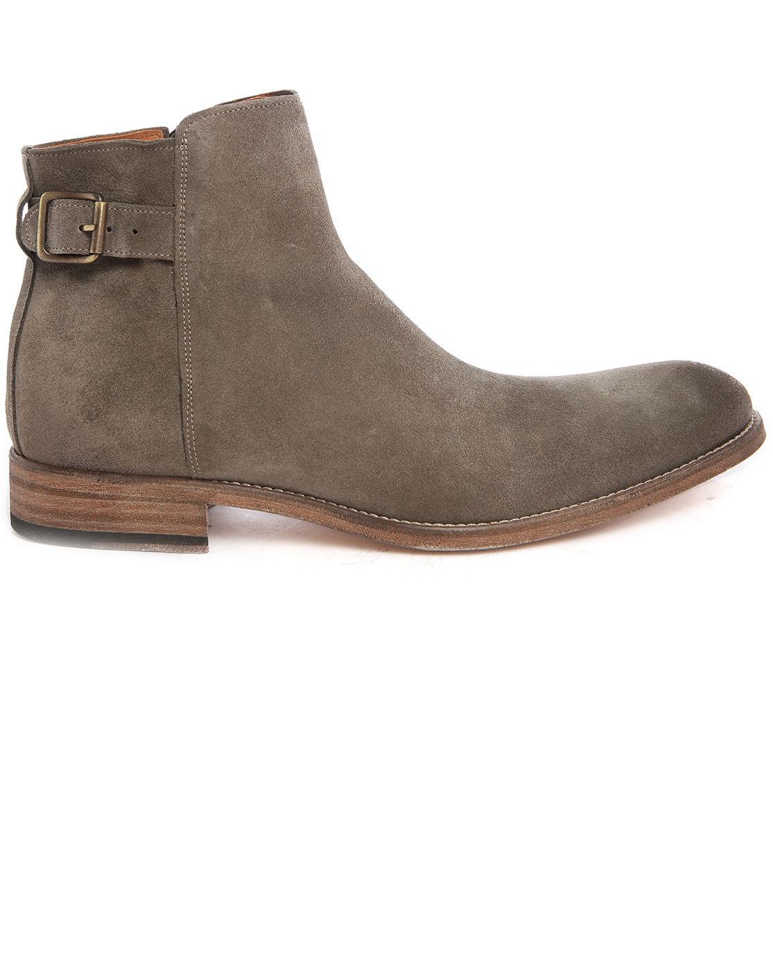 anthology camel suede desert boots in natural for men lyst. Black Bedroom Furniture Sets. Home Design Ideas