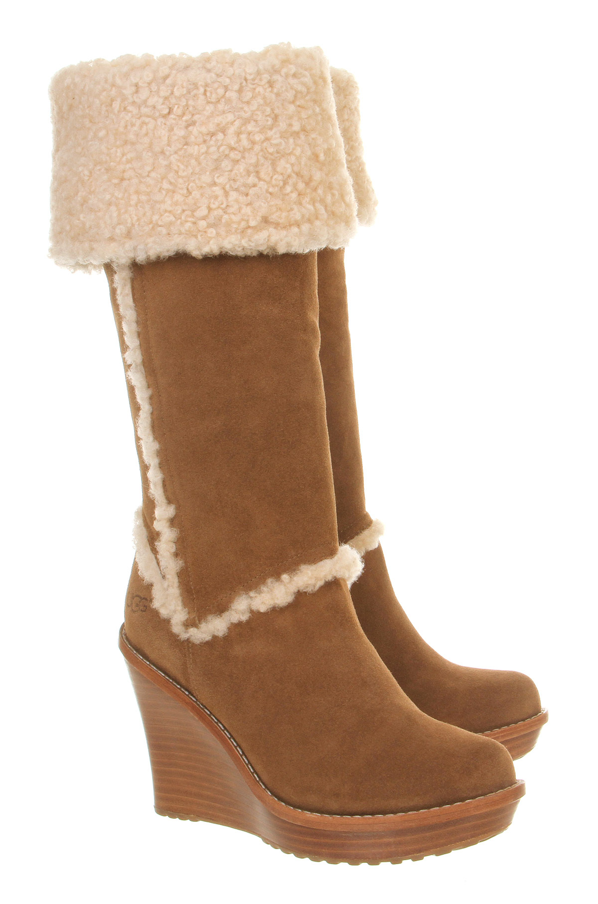 womens ugg boots wedge heel