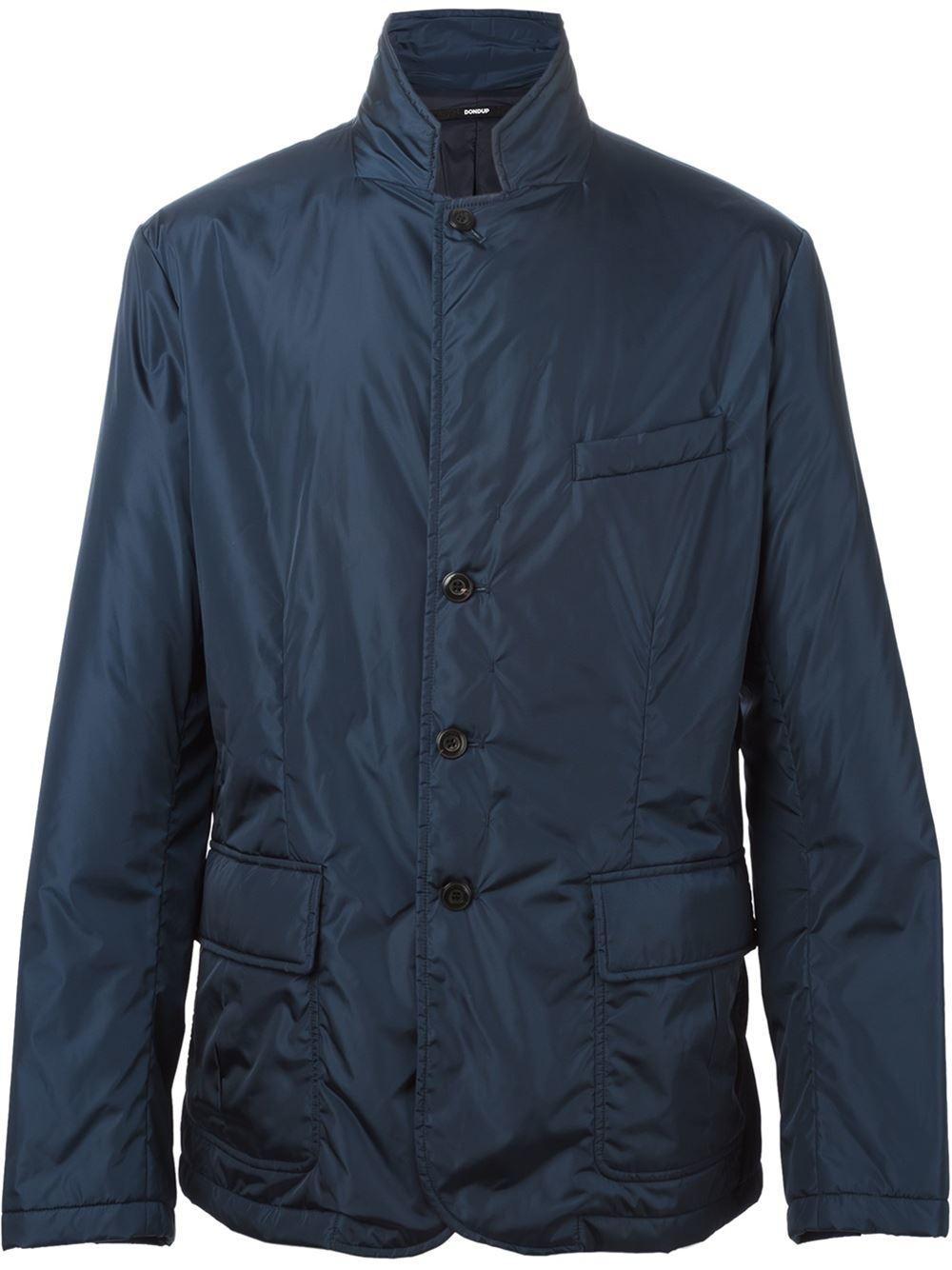 Dondup Windbreaker-style Jacket in Blue for Men - Save 60% ...