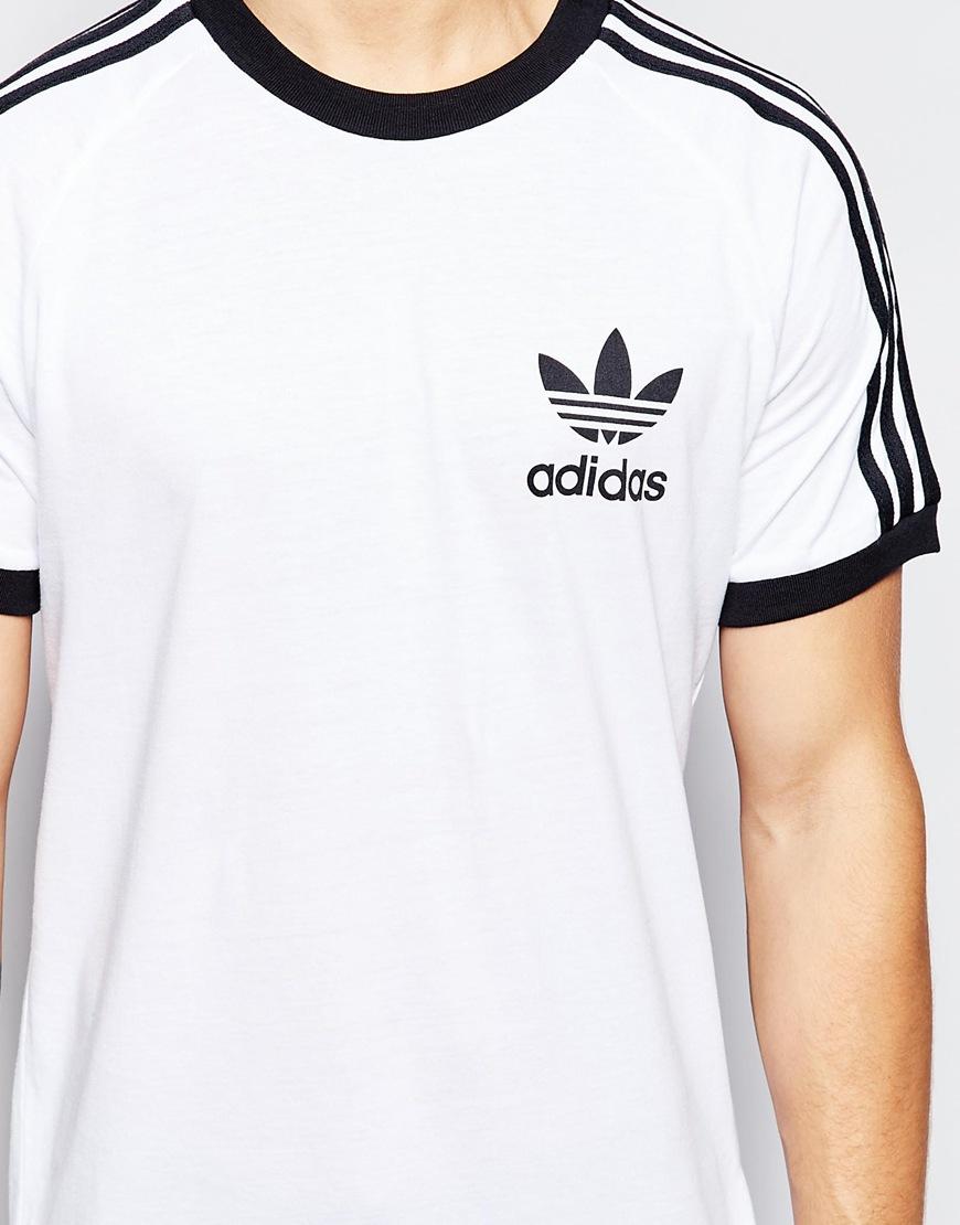 e3e023f21dcf0b Lyst - adidas Originals California T-shirt Ab7602 in White for Men