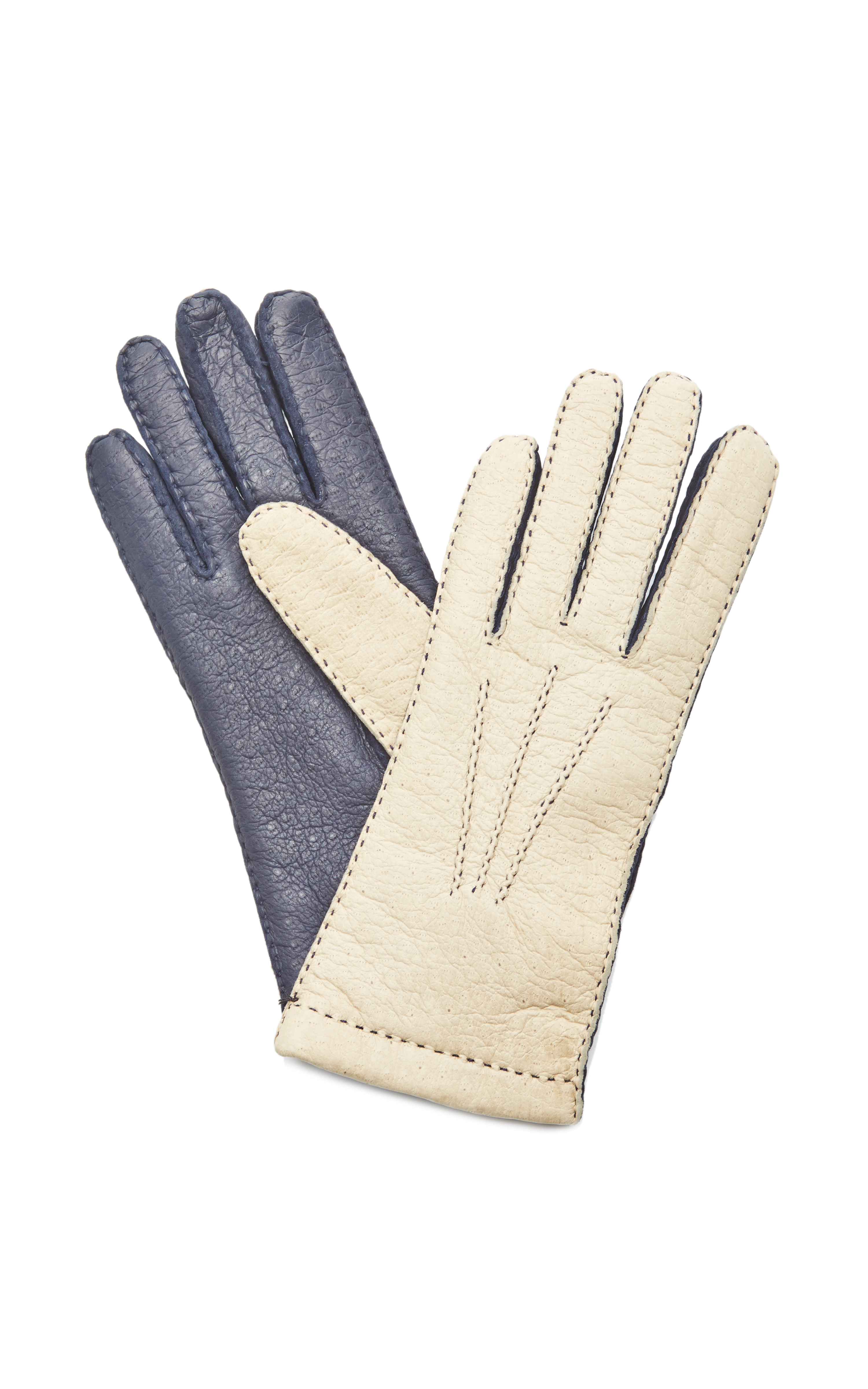 Womens beige leather gloves - Gallery Previously Sold At Moda Operandi Women S Leather Gloves