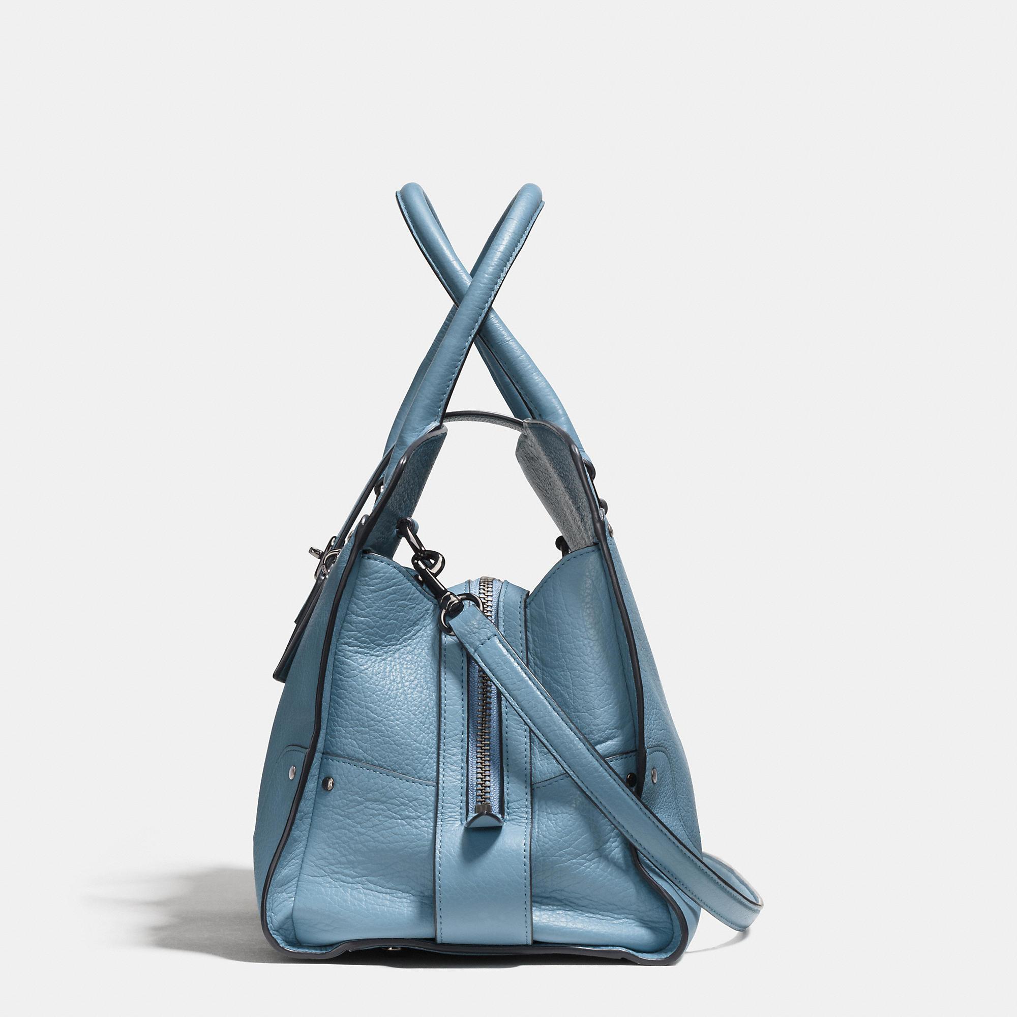 ... shopping lyst coach mercer satchel in grain leather a2275 c13eb 84f91f873680e