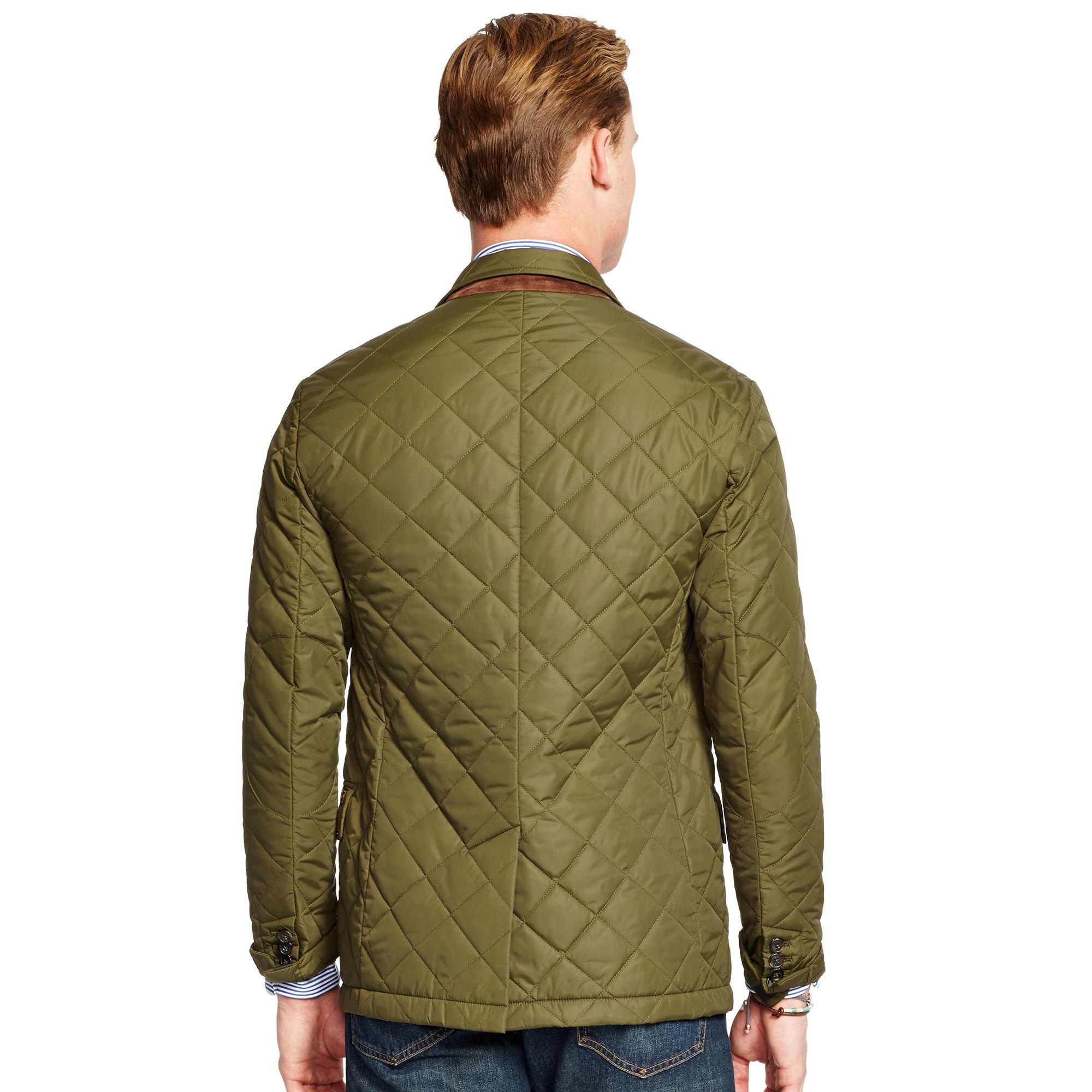 Lyst - Polo ralph lauren Quilted Sport Coat in Green for Men : mens quilted sport coat - Adamdwight.com