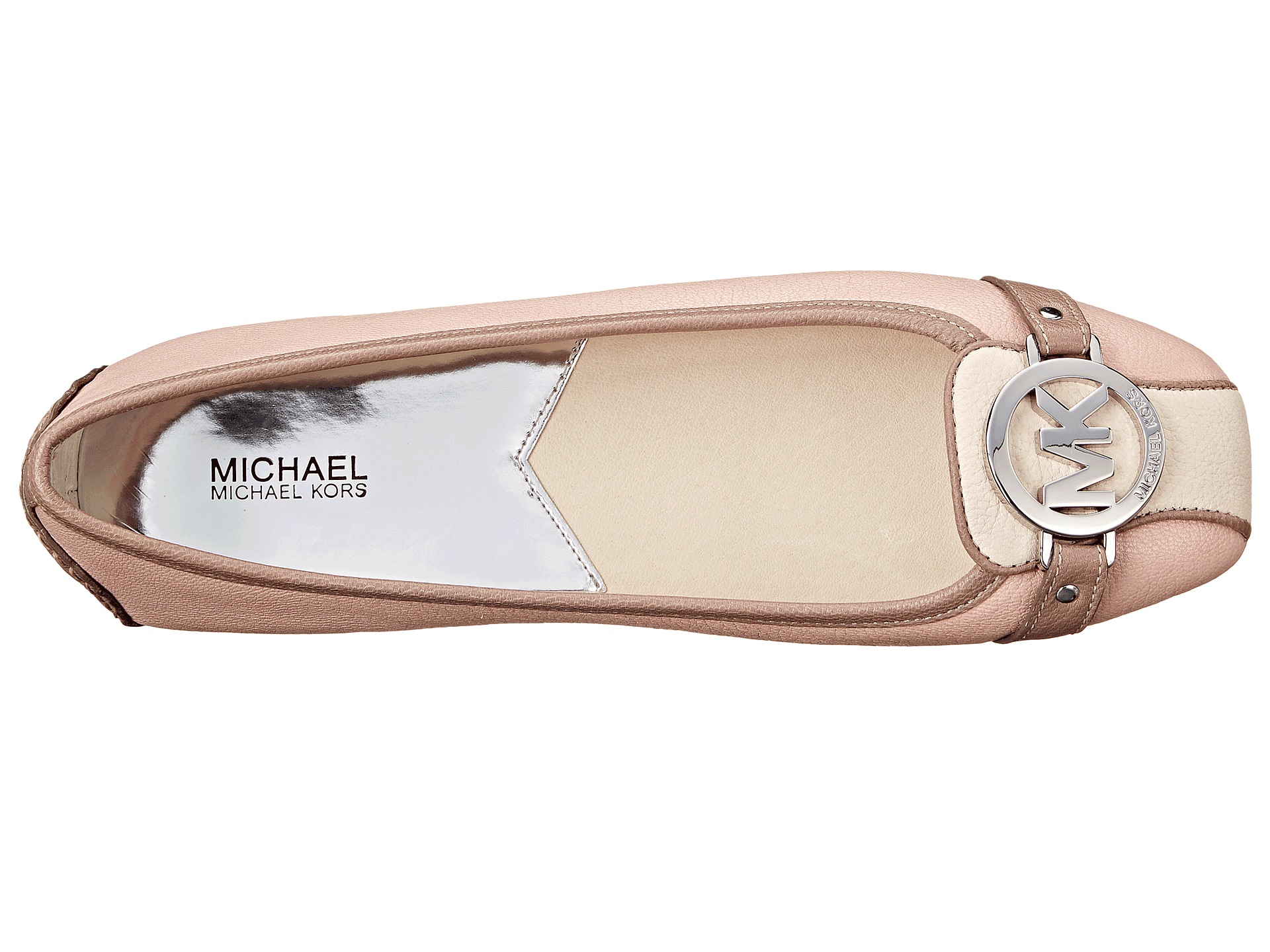 Lyst Michael Michael Kors Fulton Moc in Natural