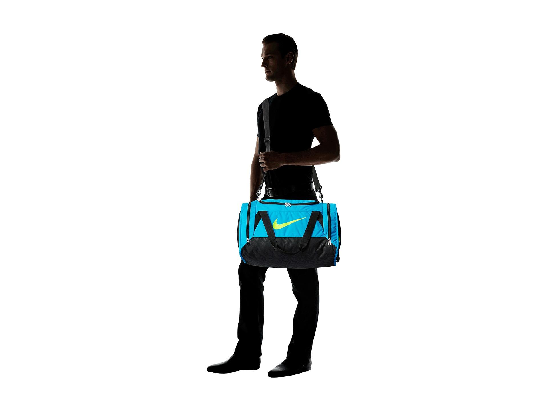 Lyst - Nike Brasilia 6 Small Duffel in Blue for Men 78253f358925a