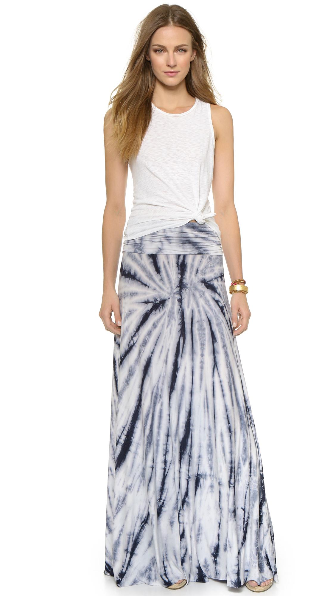 95754b374 Lyst - Young Fabulous & Broke Bangal Maxi Dress / Skirt - Grey ...