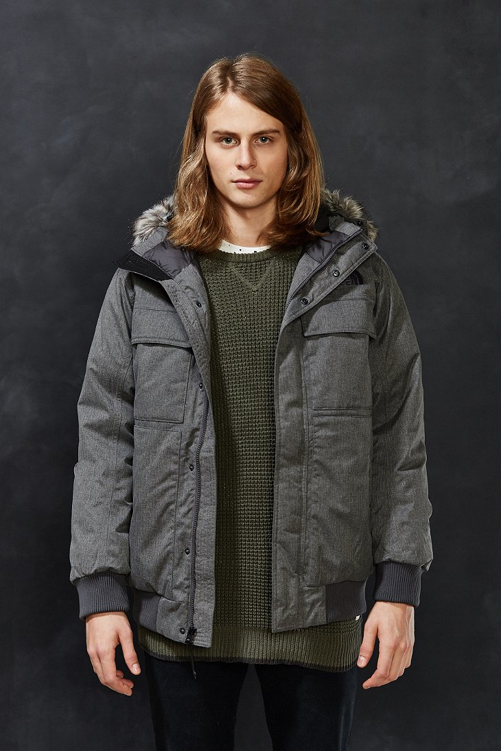 8dba0972f5a21 ... denmark lyst the north face gotham jacket ii in gray for men 451b3 e944d