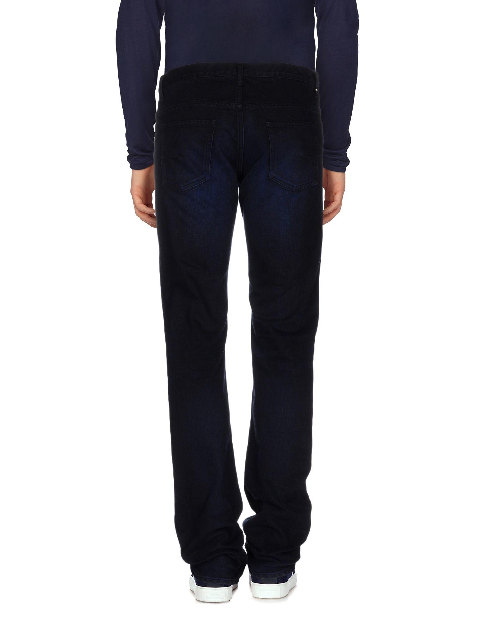 lyst dior homme denim trousers in blue for men. Black Bedroom Furniture Sets. Home Design Ideas