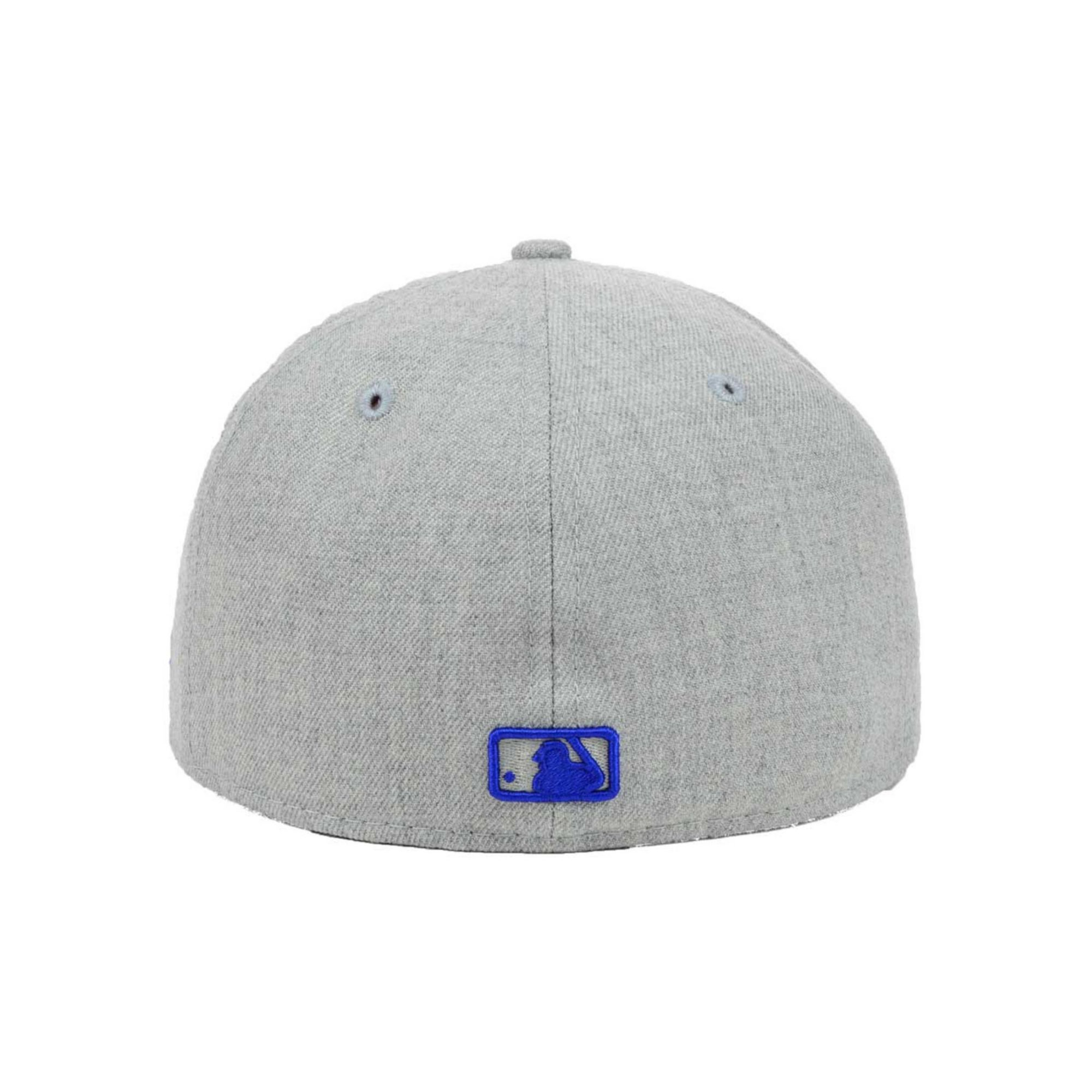 official photos f6c25 37cdc ... top quality lyst ktz detroit tigers mlb heather basic 59fifty cap in  gray for men 0eaaa