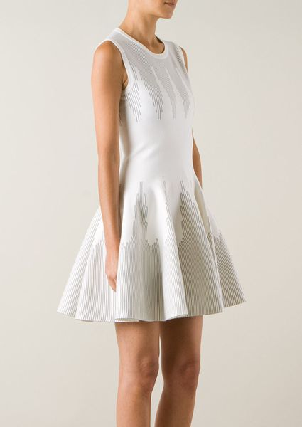 Alaia Dresses On Sale Azzedine Alaa White Wool