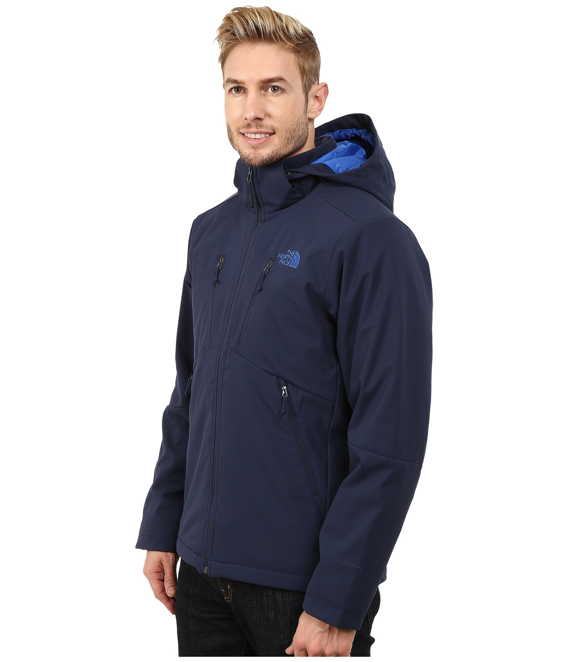c82c685269b5 ... usa lyst the north face apex elevation jacket in blue for men 6bc70  f616d