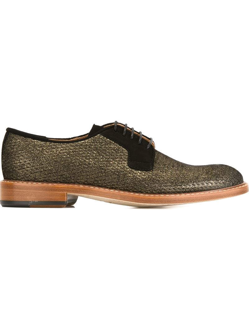 Paul smith Stokes Derby Shoes in Black