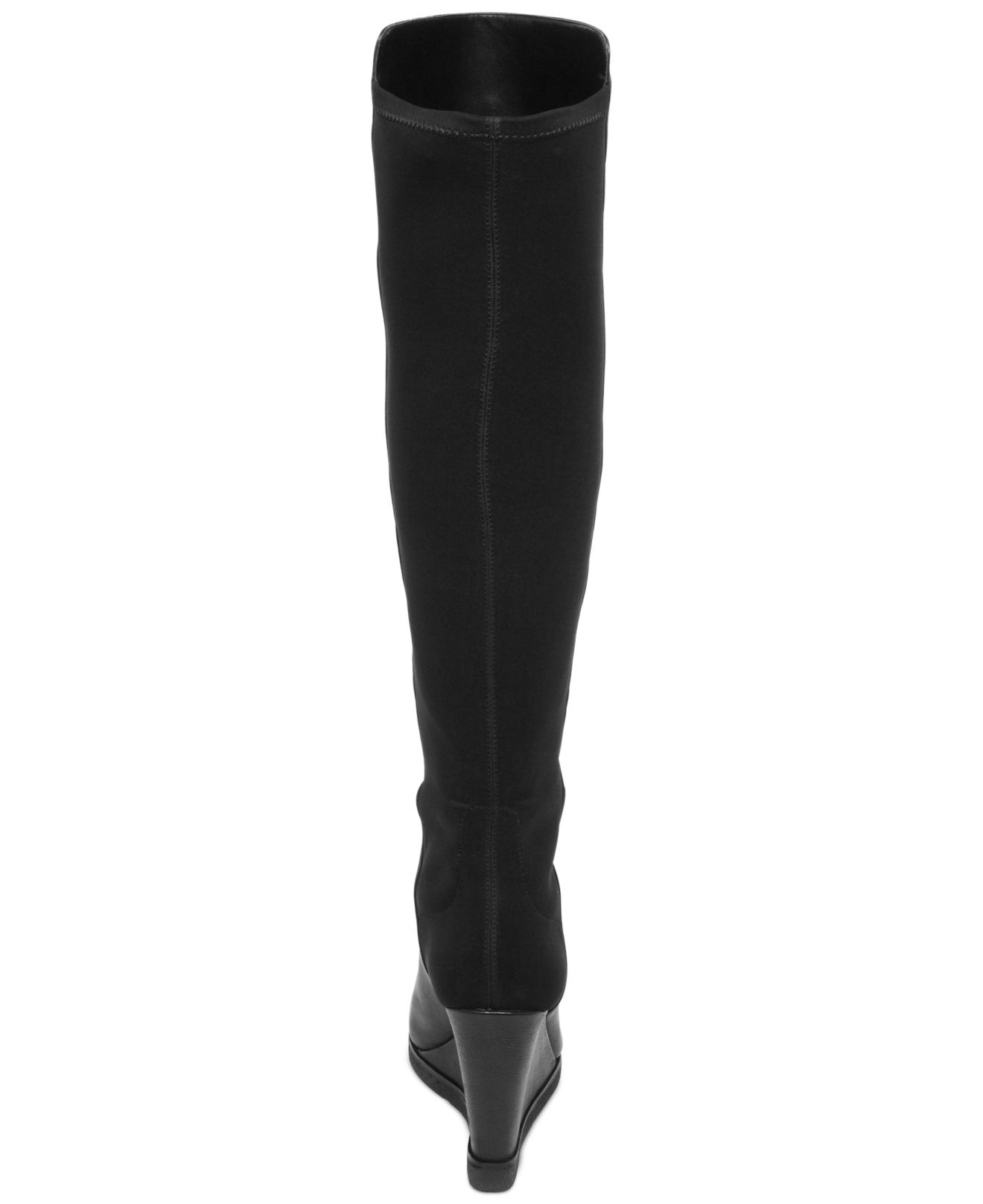 Vince camuto Kaelen Tall Wedge Boots in Black   Lyst
