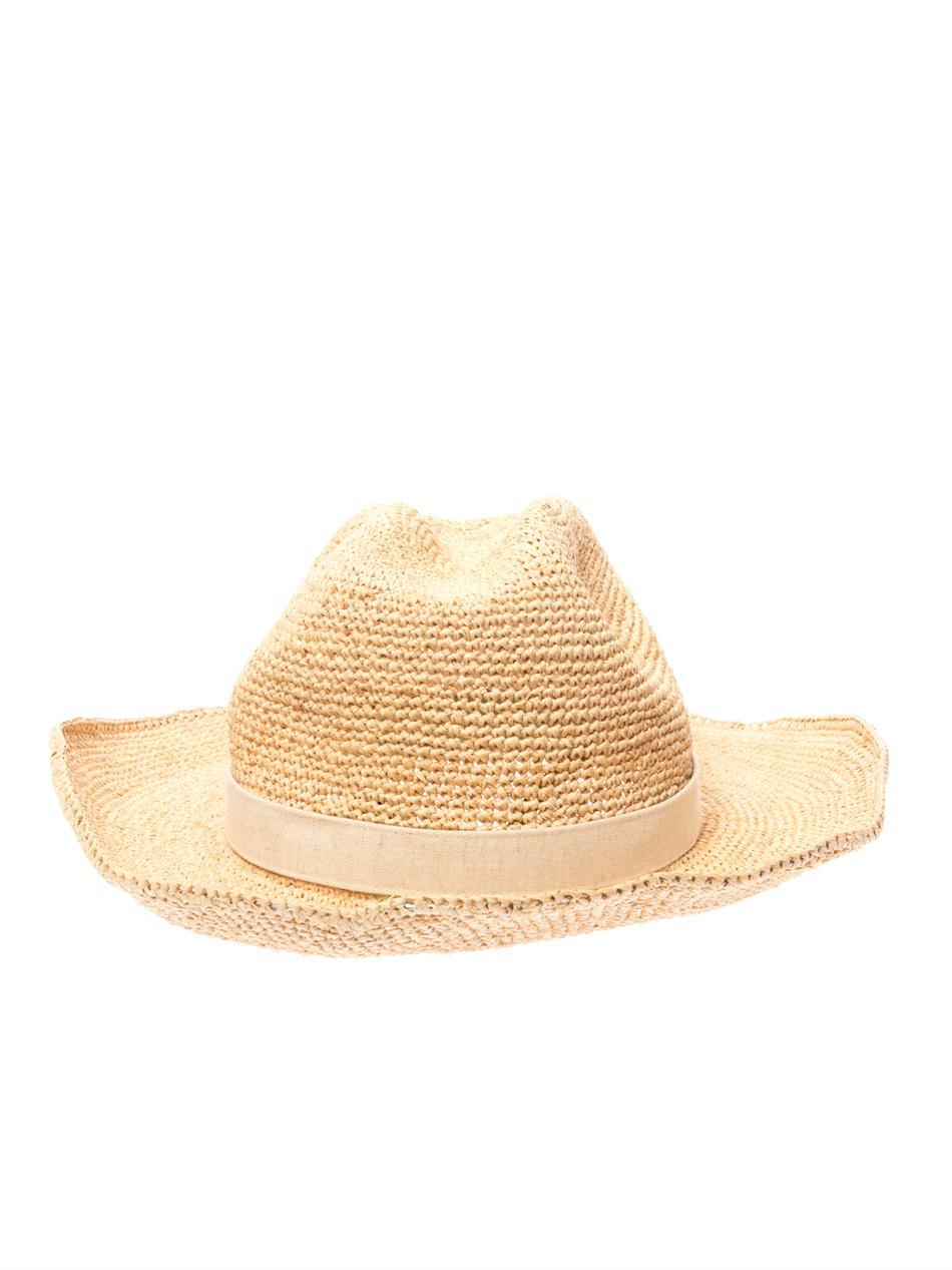 c6eb4428af7 Lyst - Heidi Klein Raffia Cowboy Hat in Natural
