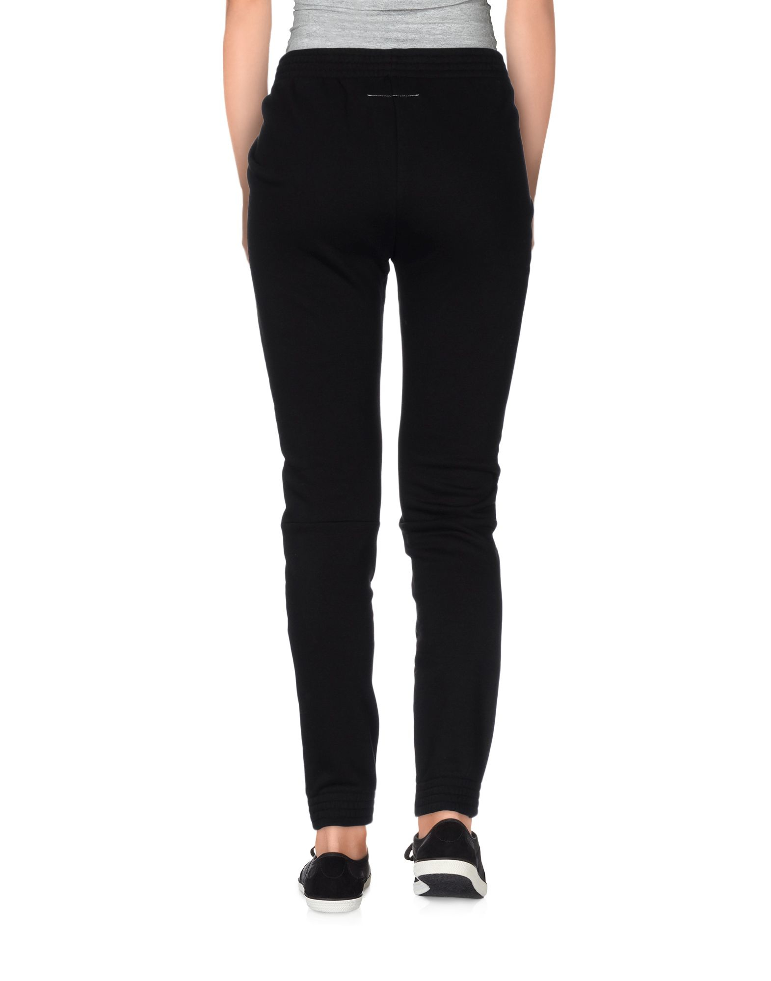 Mm6 by maison martin margiela casual trouser in black lyst for 10 moulmein rise la maison
