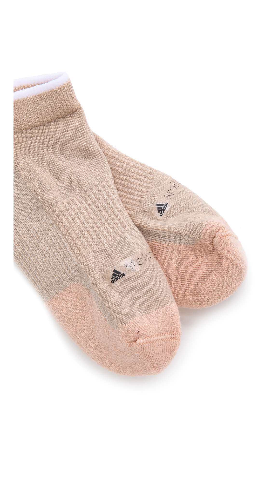 Lyst adidas da stella mccartney barricata calzini gingerfrost in rosa