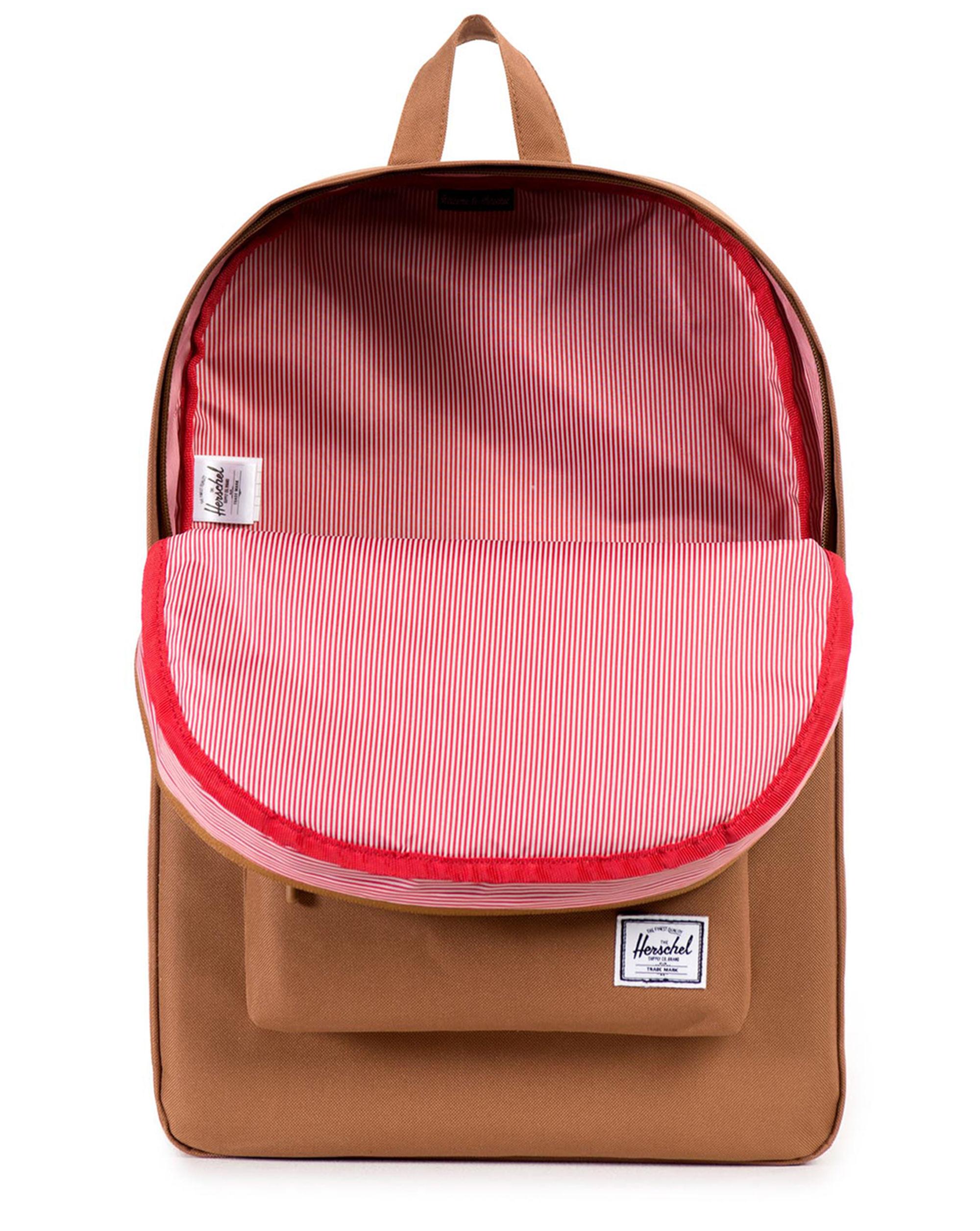 herschel supply co caramel classic backpack 22 l in natural for men lyst. Black Bedroom Furniture Sets. Home Design Ideas