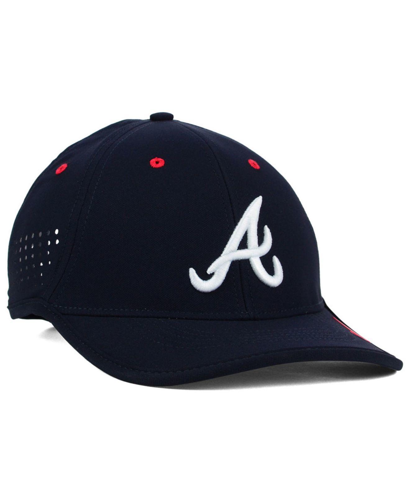 Lyst - Nike Atlanta Braves Vapor Swoosh Adjustable Cap in Blue for Men 4593b57c72c