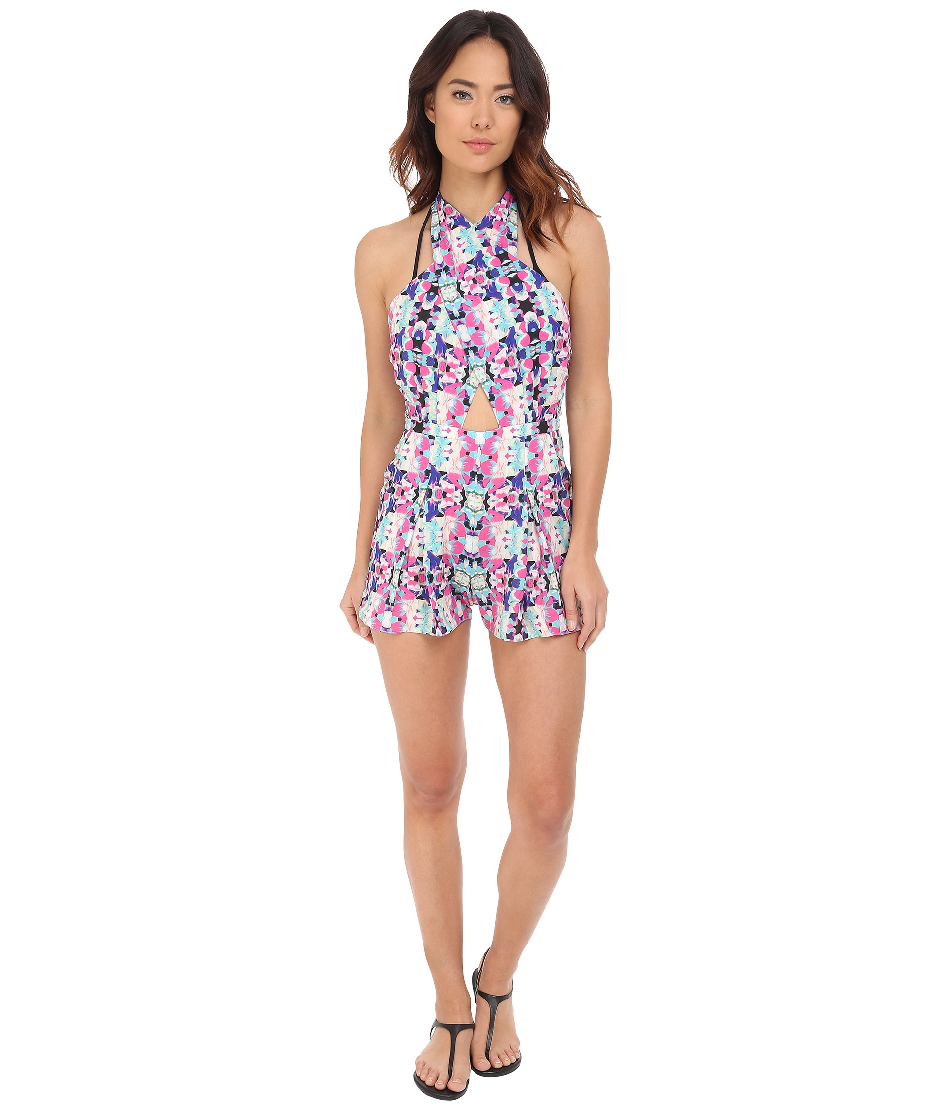 ba3e5cd5ae6 Lyst - 6 Shore Road By Pooja Chiva Romper Cover-up in Pink