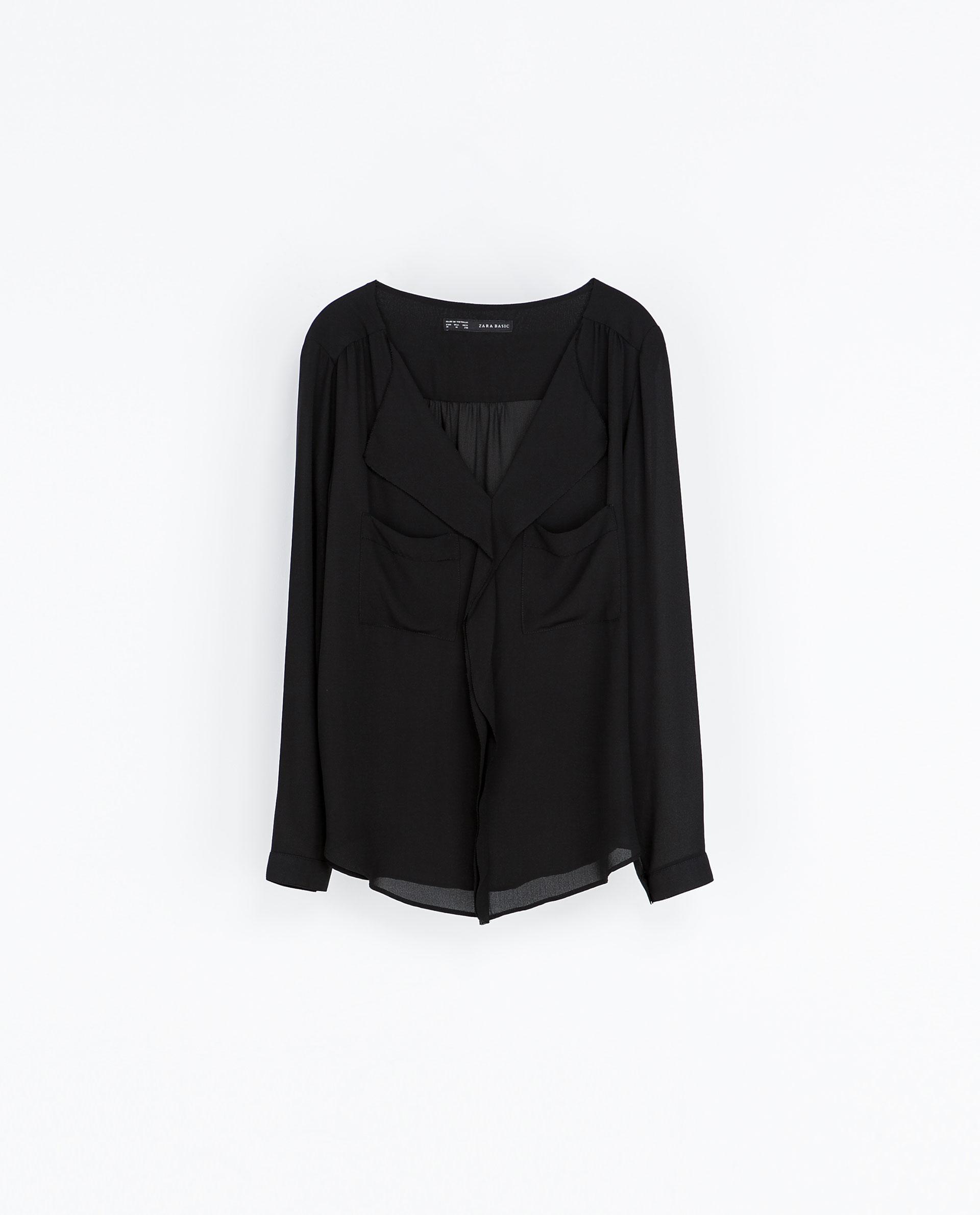 Zara Open Sleeve Blouse 75