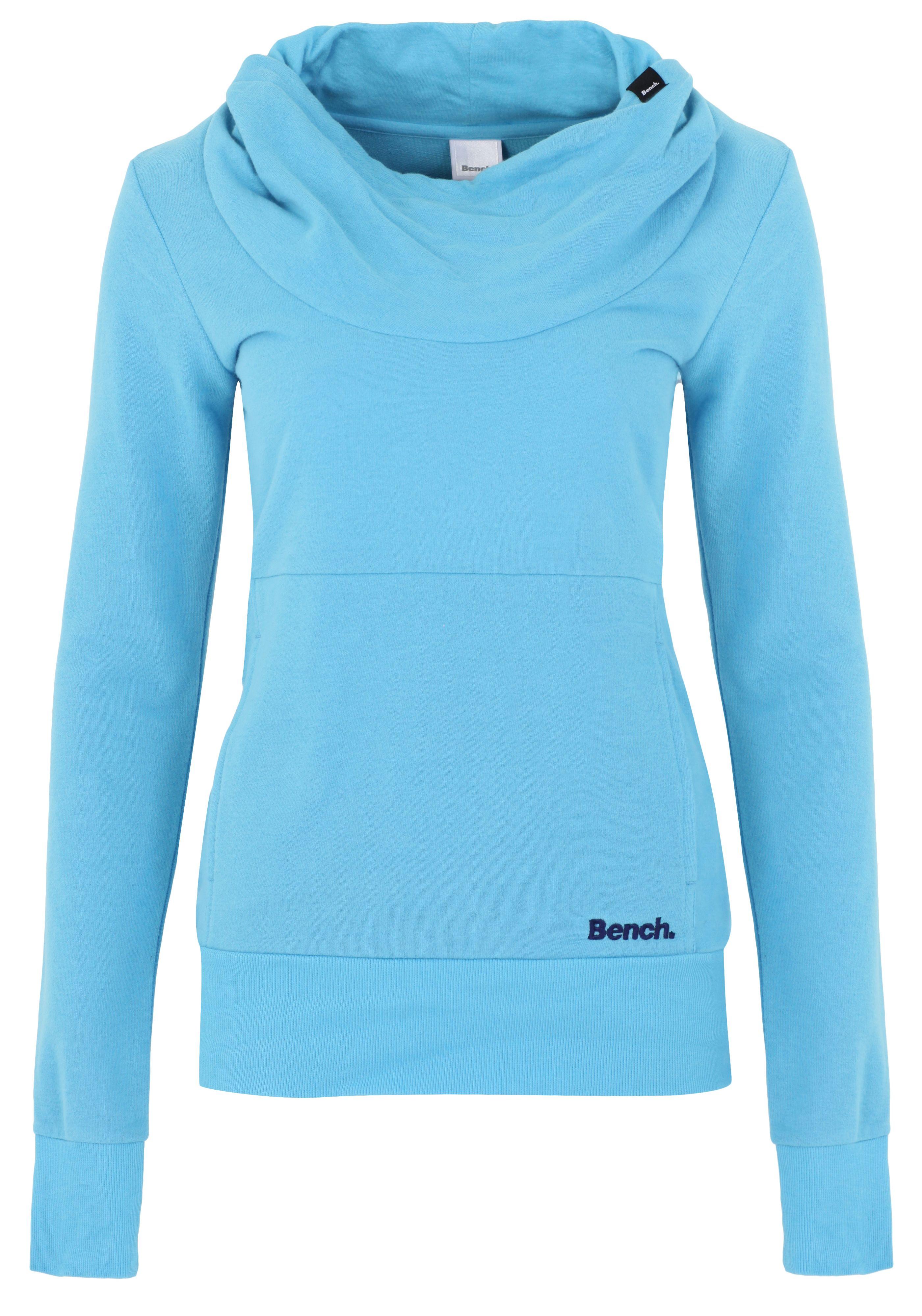 Bench Inclu Cowl Neck Sweatshirt In Blue Lyst