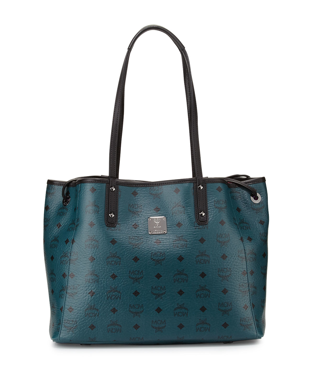 Mcm Galaxy Reversible Medium Shopper Tote Bag in Green | Lyst