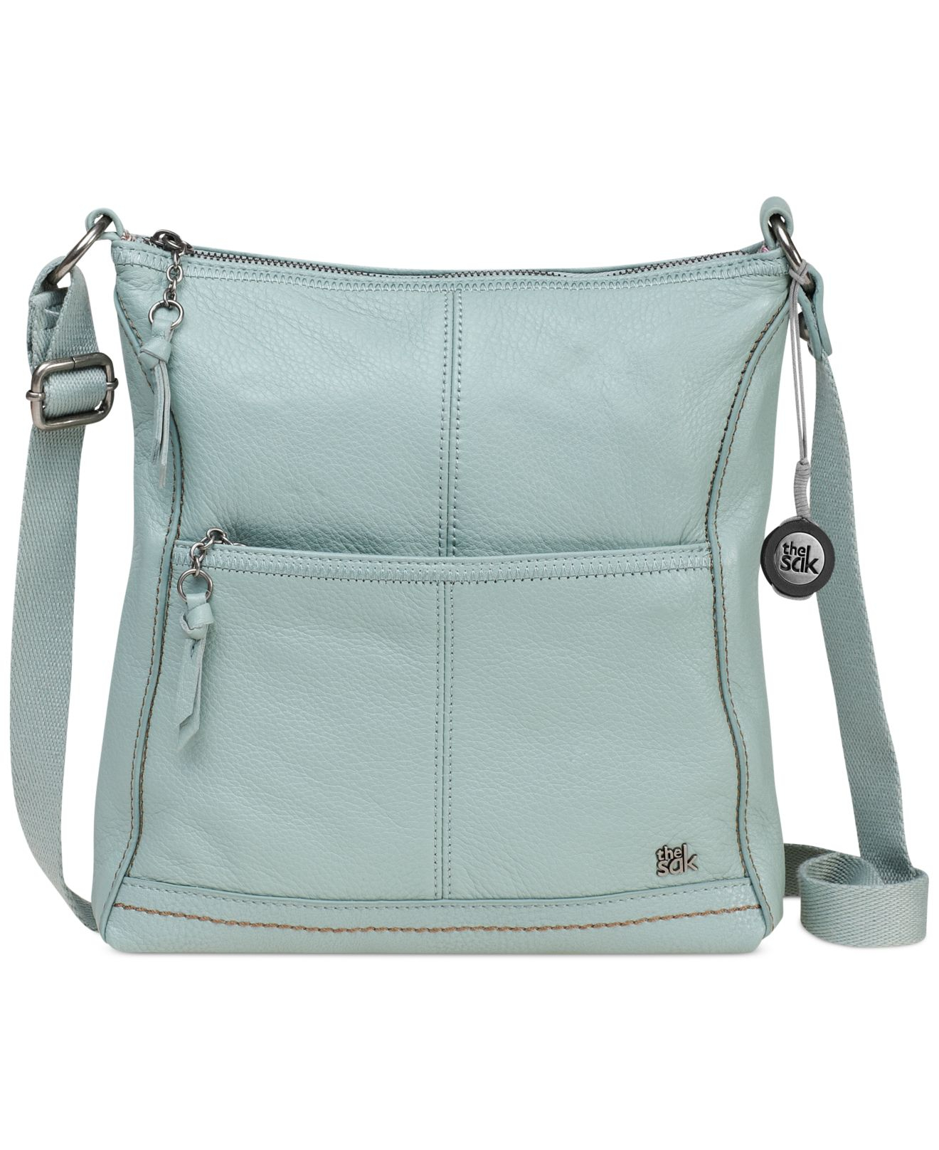 Lyst - The Sak Iris Leather Crossbody Bag in Green