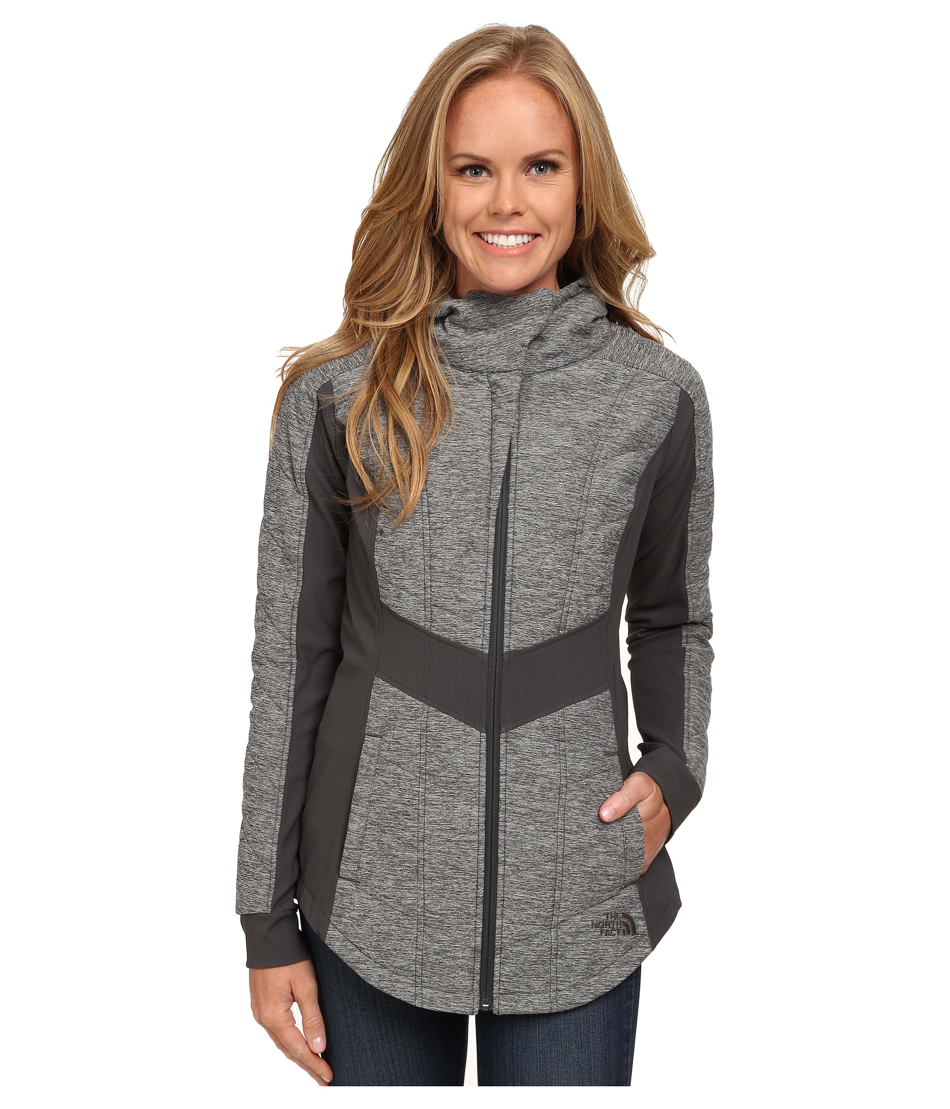 ce88b4e21c94 ... wholesale 000 lyst the north face pseudio jacket in gray 9689b 60d0a