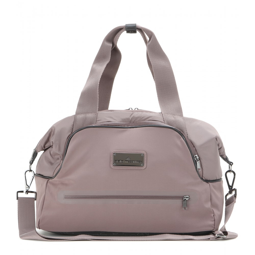 Lyst - adidas By Stella McCartney Iconic Small Gym Bag in Gray 5cb0ca591b