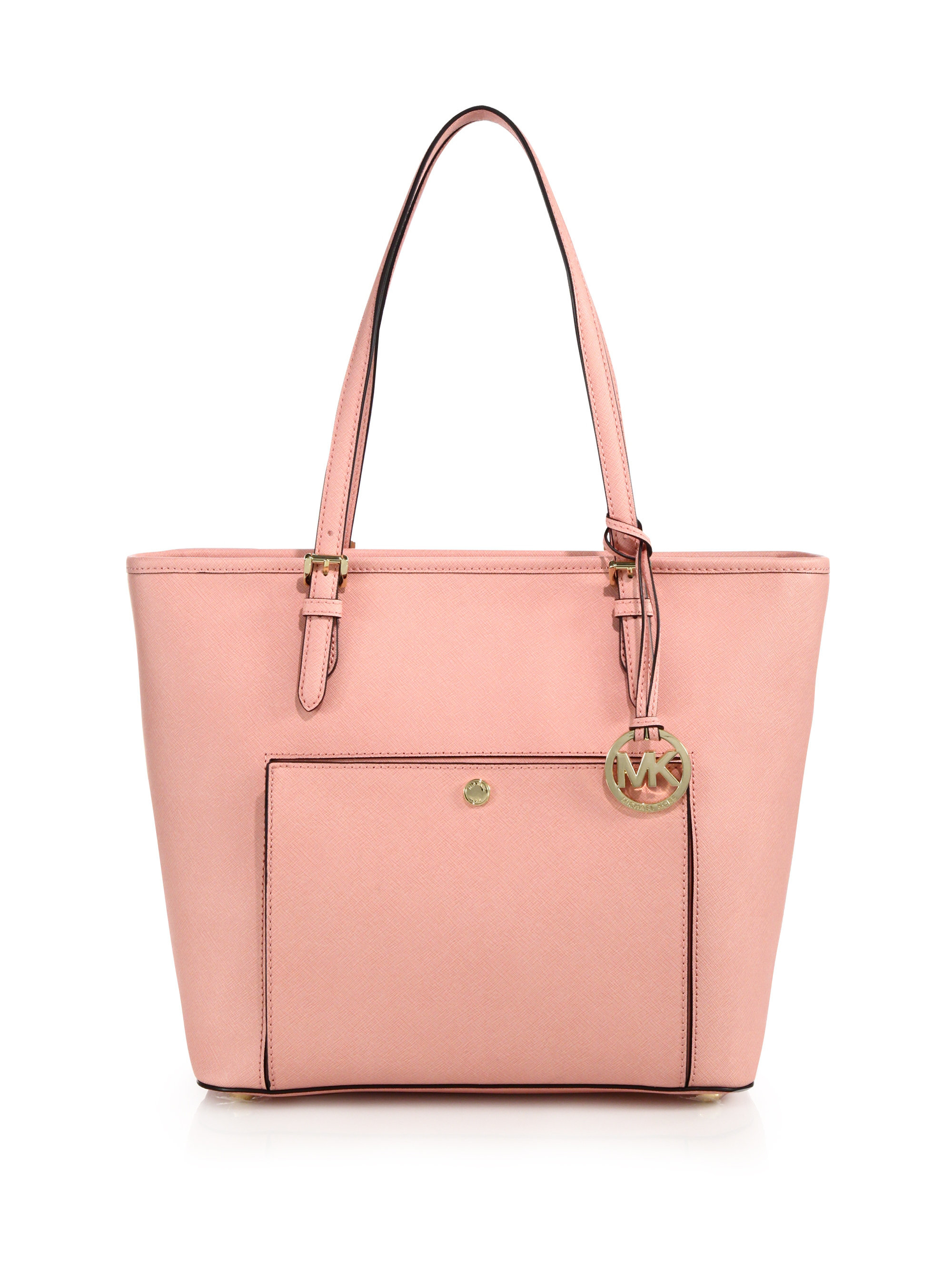 michael kors large everyday tote in pink pale pink lyst. Black Bedroom Furniture Sets. Home Design Ideas