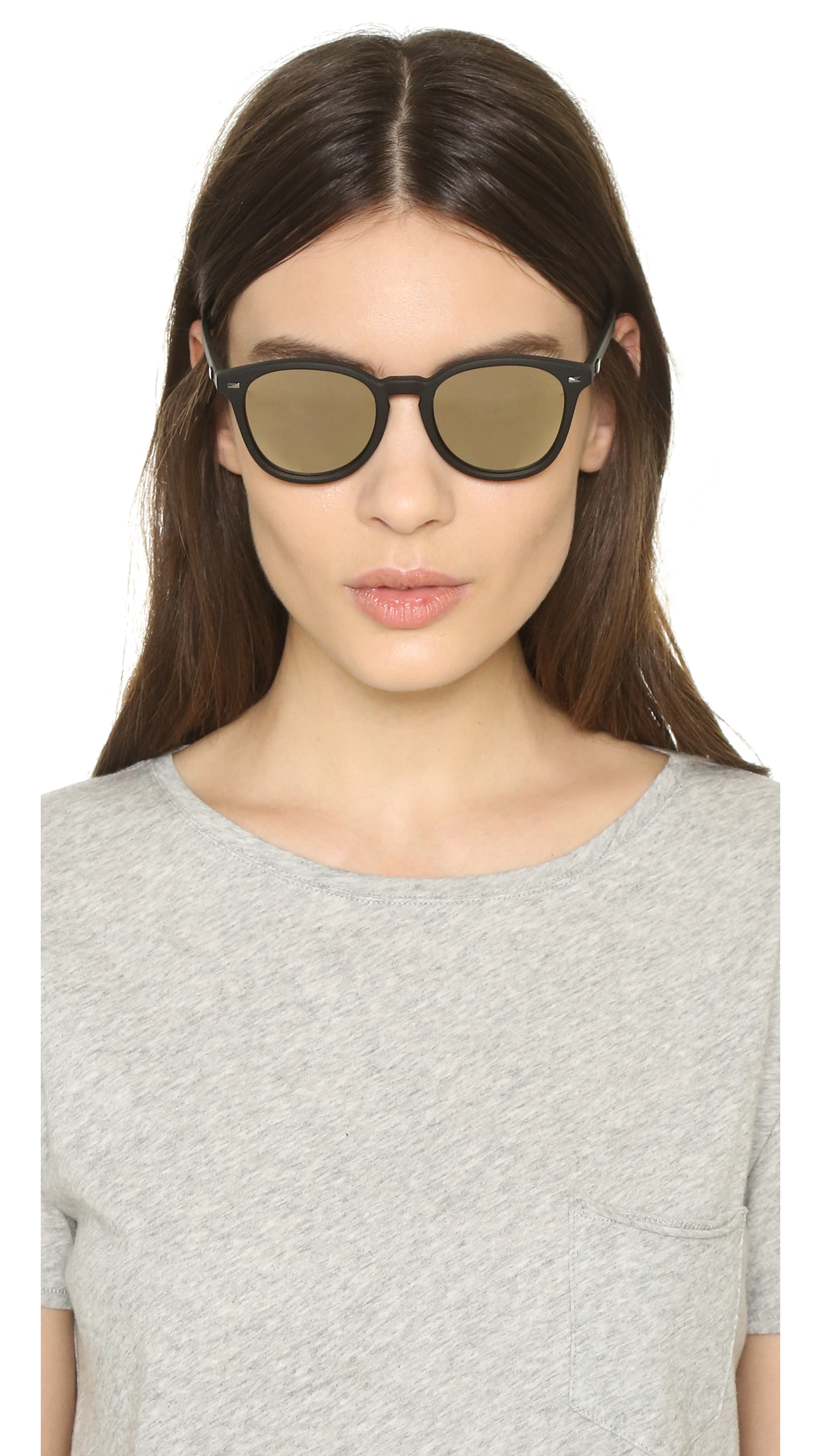 a3684748da Lyst - Le Specs Bandwagon Sunglasses in Black