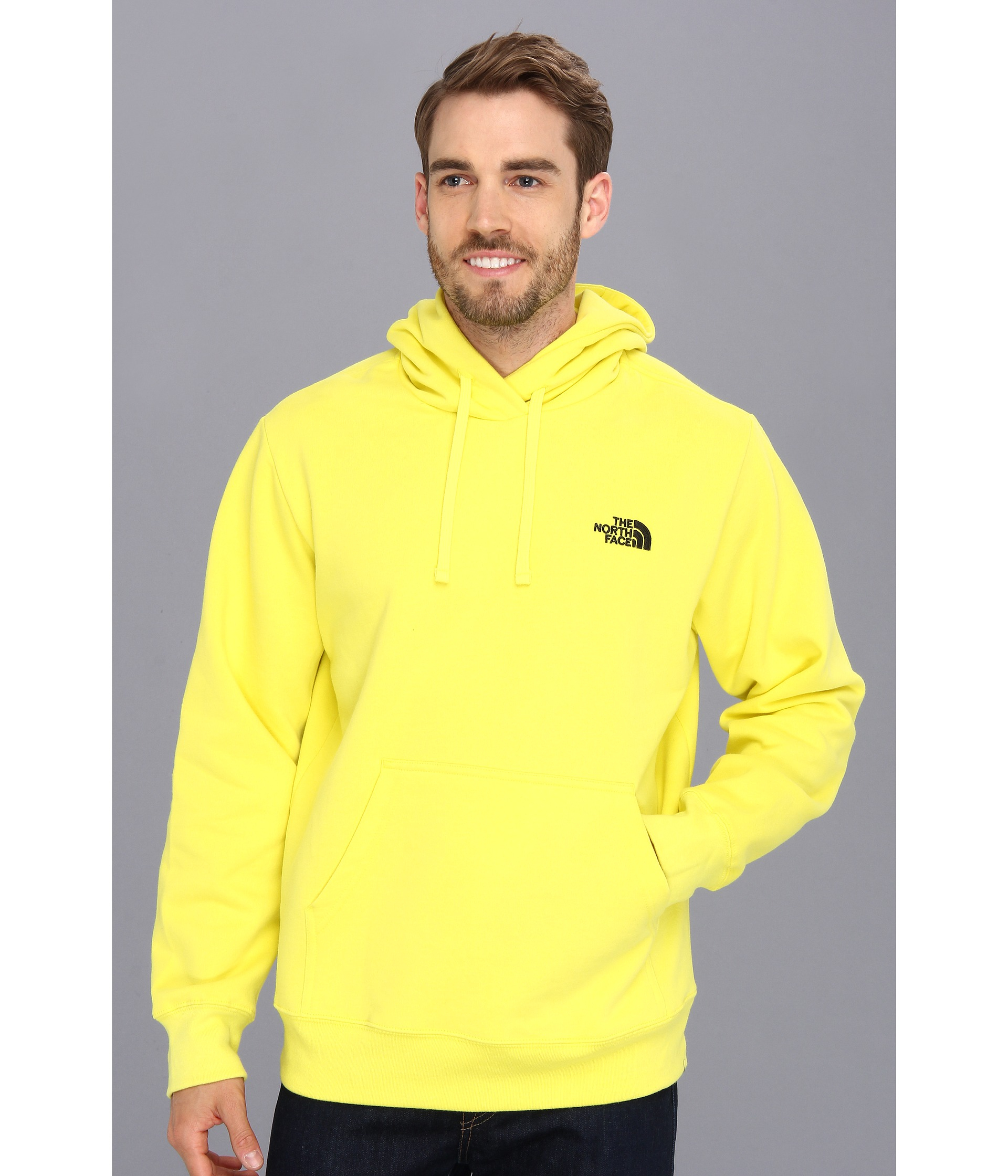 Mens Yellow Hoodie - Trendy Clothes