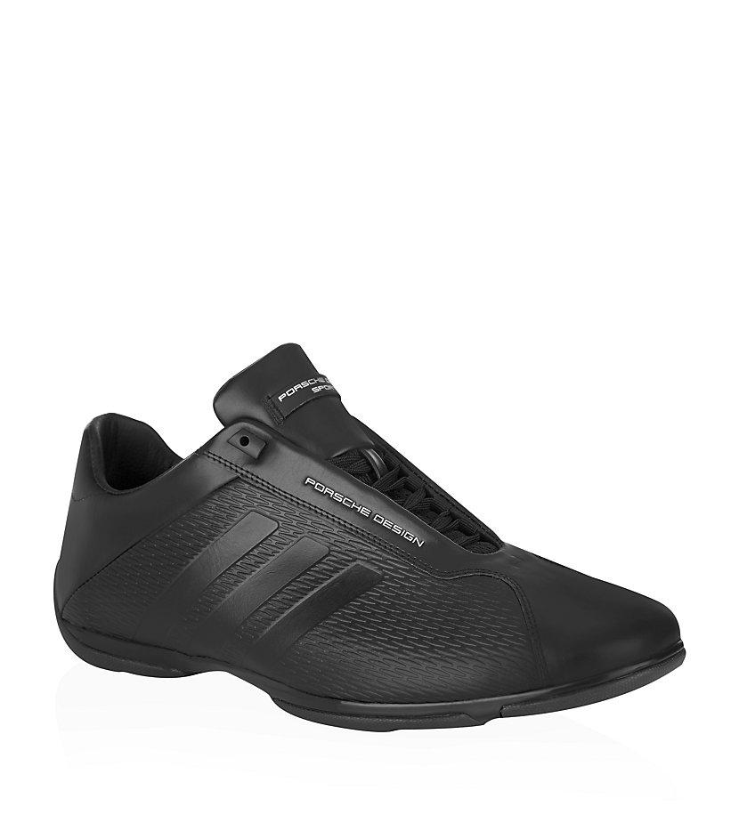 porsche design pilot ii shoe in black for men lyst. Black Bedroom Furniture Sets. Home Design Ideas