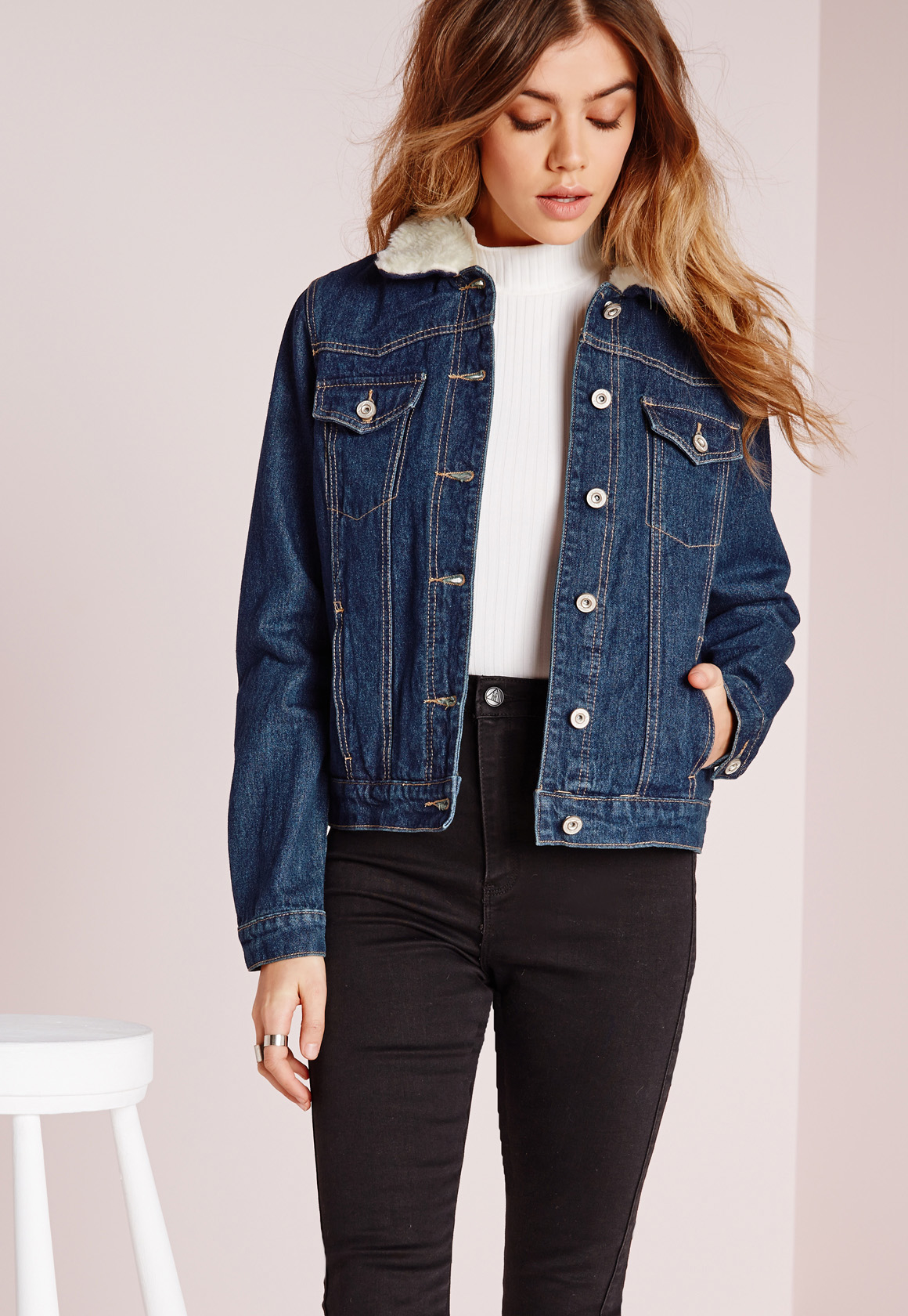 Sheepskin Denim Jacket | Outdoor Jacket