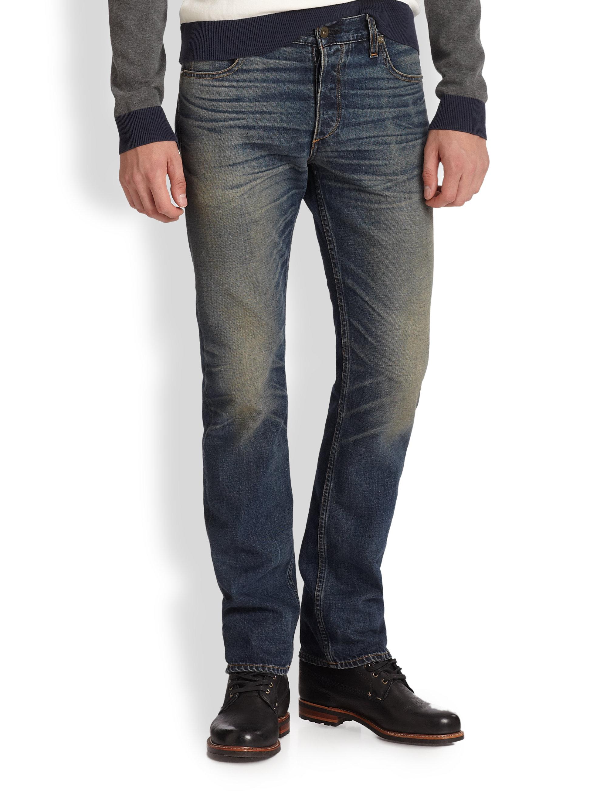 Rag Bone Rb15x Slim Jeans In Blue For Men Lyst