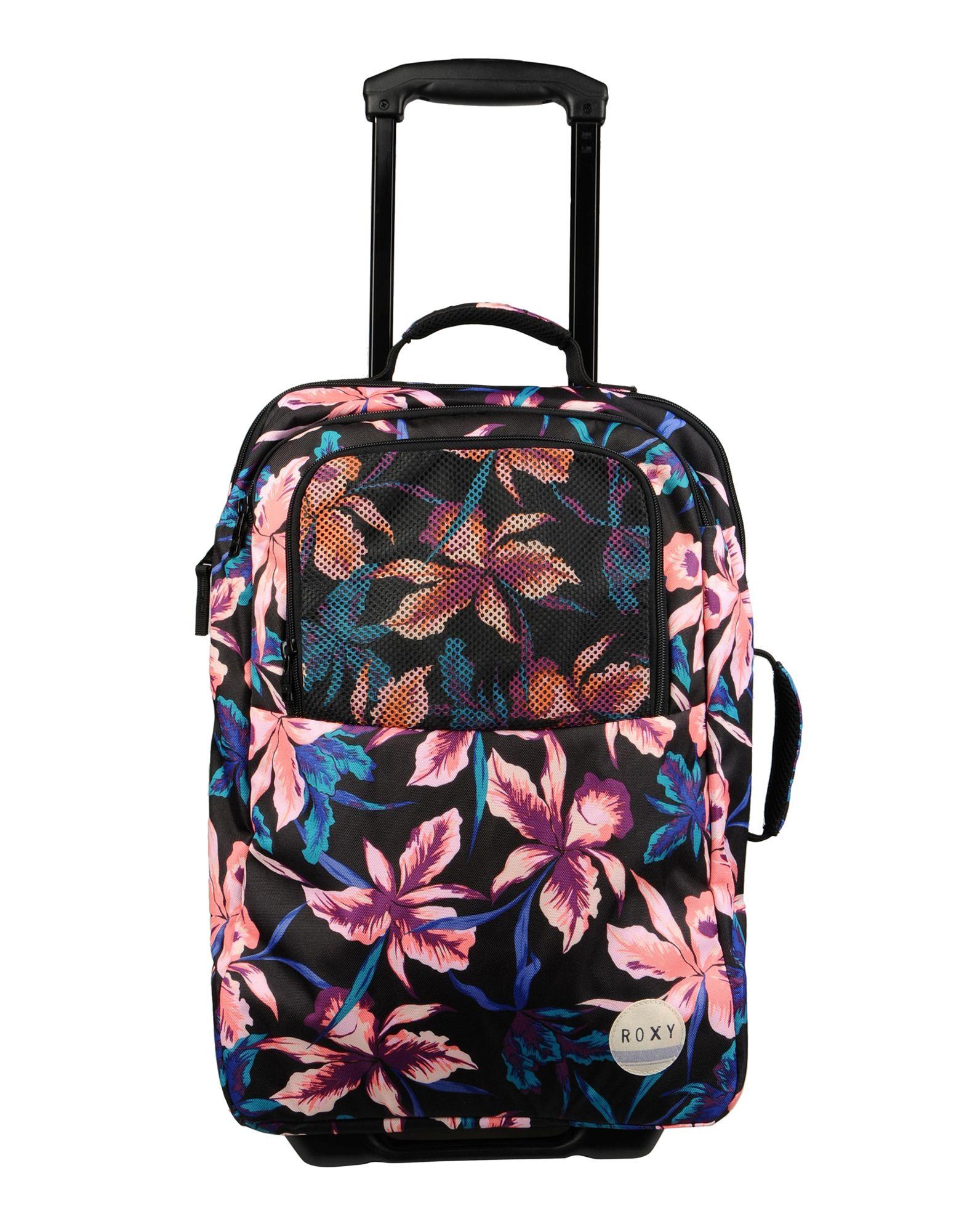 Roxy Wheeled Luggage in Black | Lyst