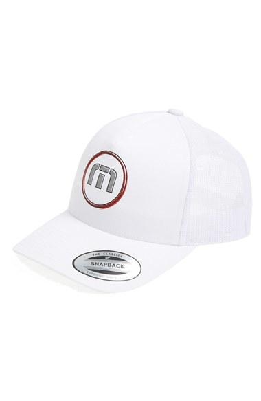 promo code 12426 e3de6 ... uk lyst travis mathew breeze baseball cap in white for men 12edb cb71d