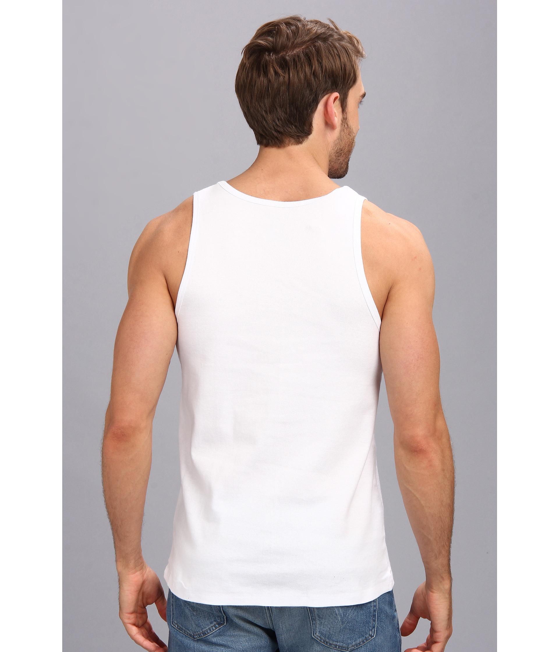 a14395d89976e Lyst - Original Penguin 100% Cotton 3 Pack Tank in White for Men