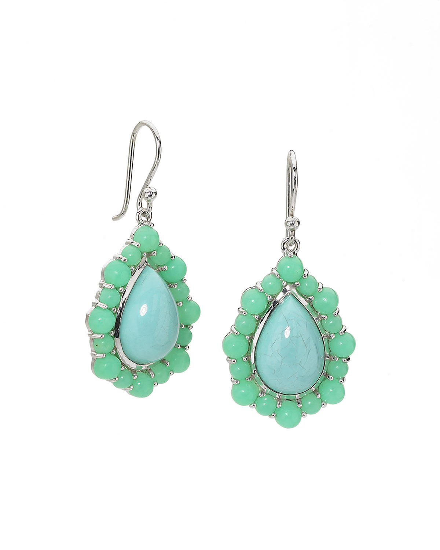 Elizabeth Showers Kaleidoscope Earrings, Blue/Green