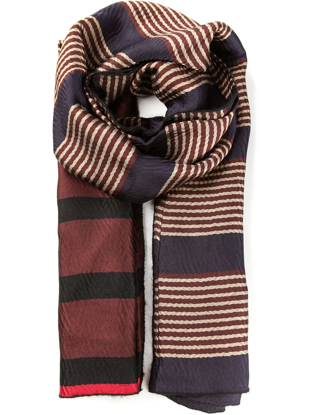 frayed scarf - Blue Forte_Forte zDPKz9W