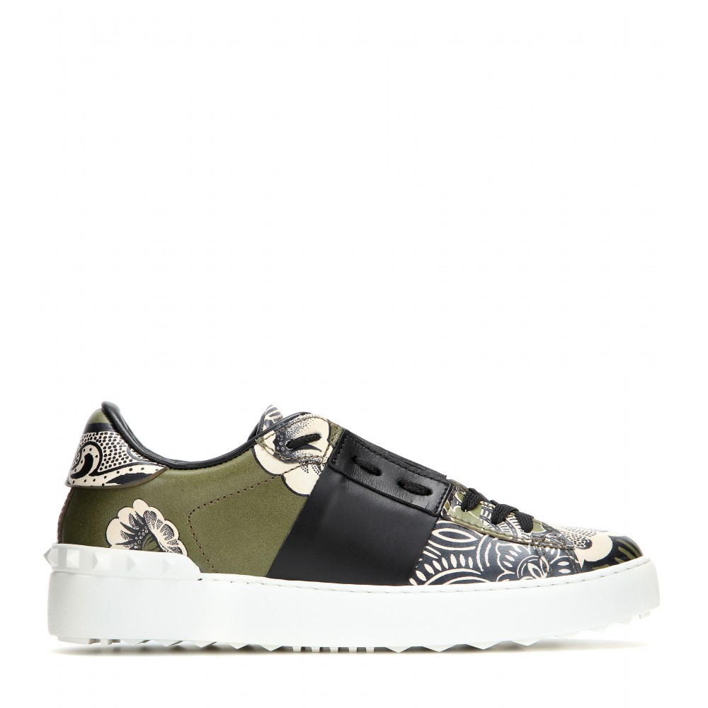 Valentino Open Printed Sneakers buy cheap 2014 new XuW8O