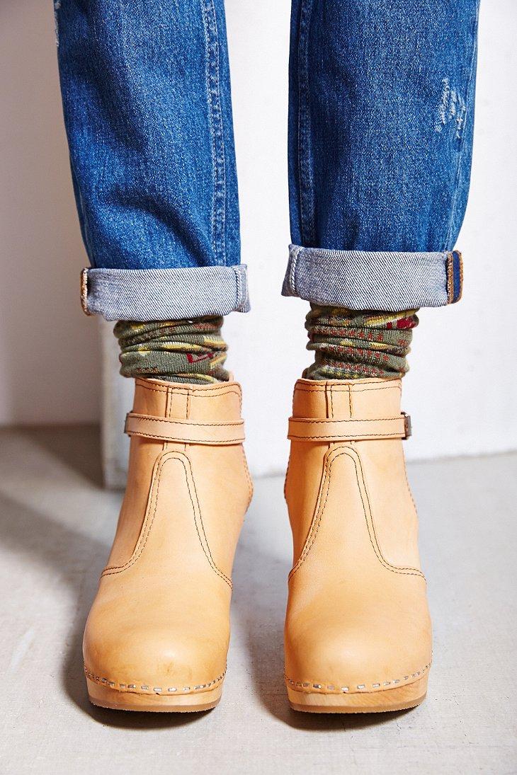 988d6813775 Swedish Hasbeens Jodhpur Boot in Natural - Lyst