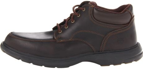 Timberland Earthkeepers Richmont Moc Toe Chukka In Brown